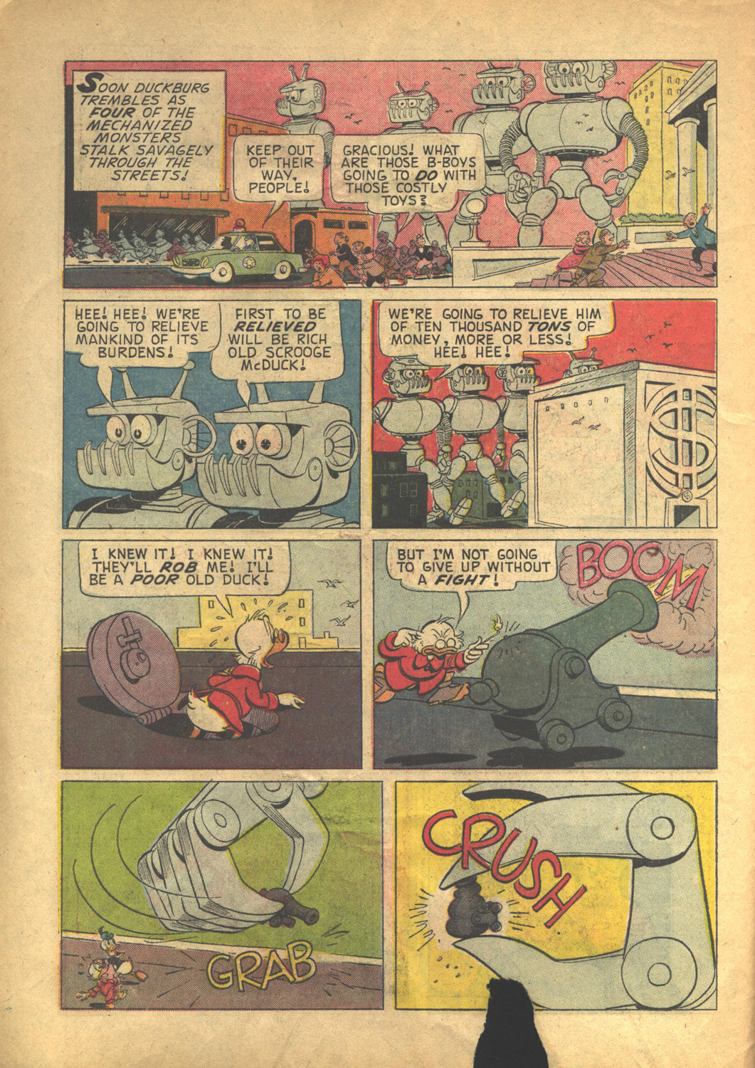 Read online Uncle Scrooge (1953) comic -  Issue #58 - 10