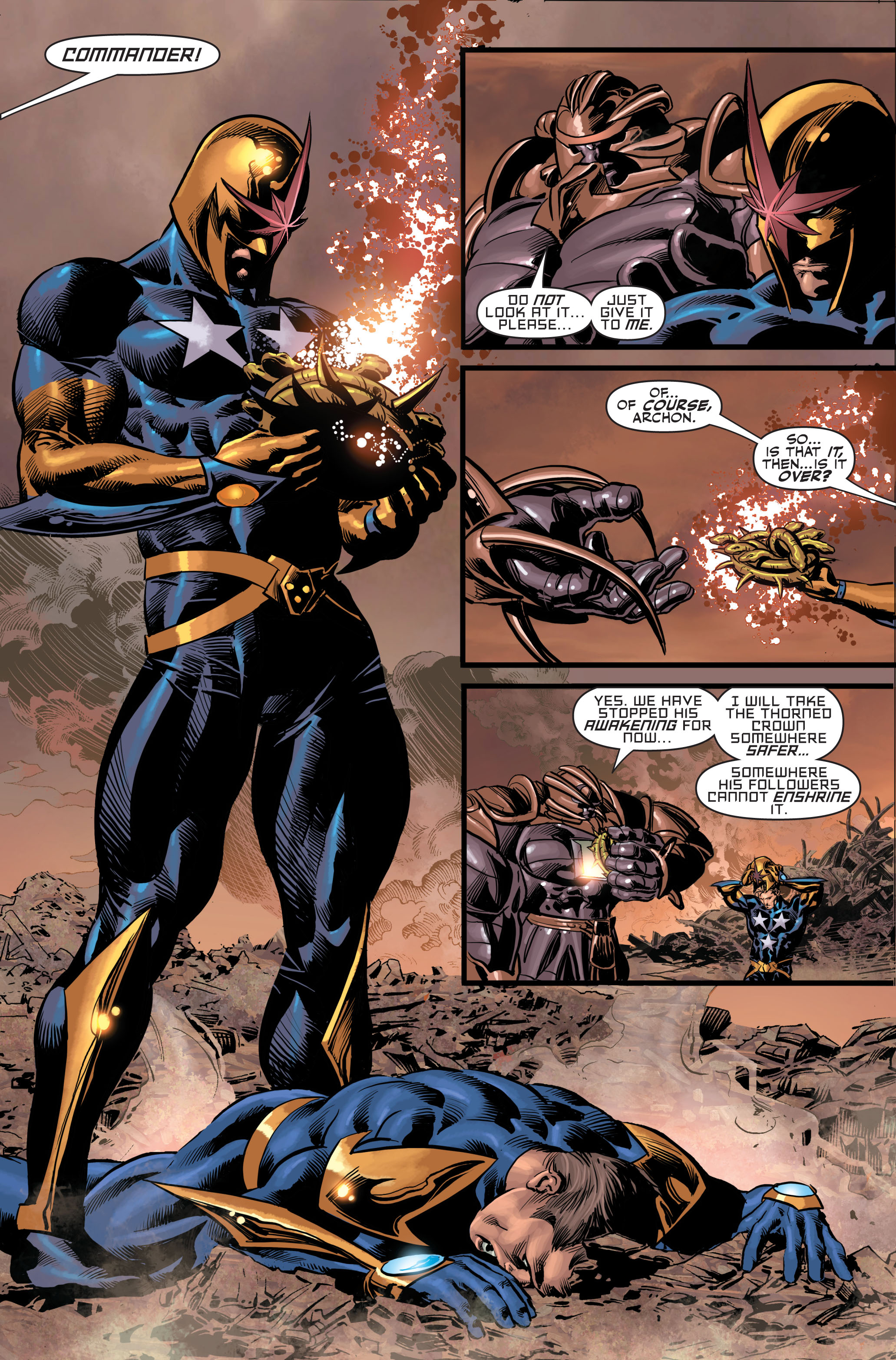 Read online Secret Avengers (2010) comic -  Issue #4 - 22