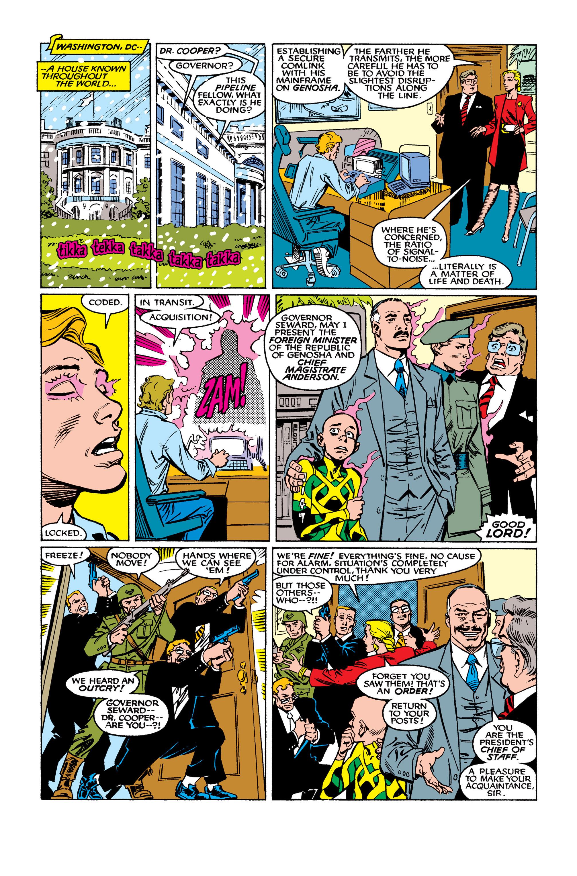 Read online Uncanny X-Men (1963) comic -  Issue #262 - 10