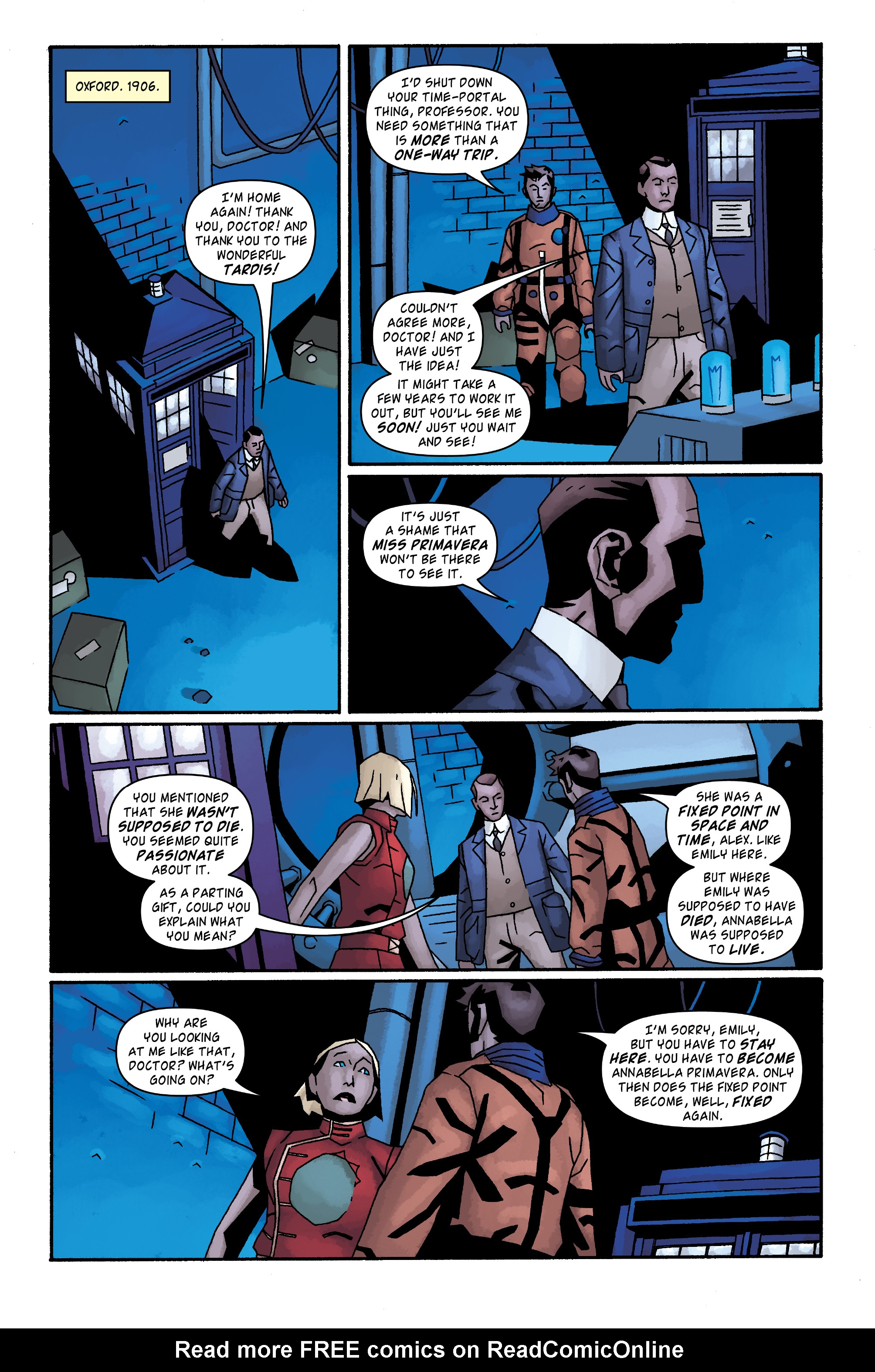 Read online Doctor Who: The Tenth Doctor Archives comic -  Issue #34 - 18