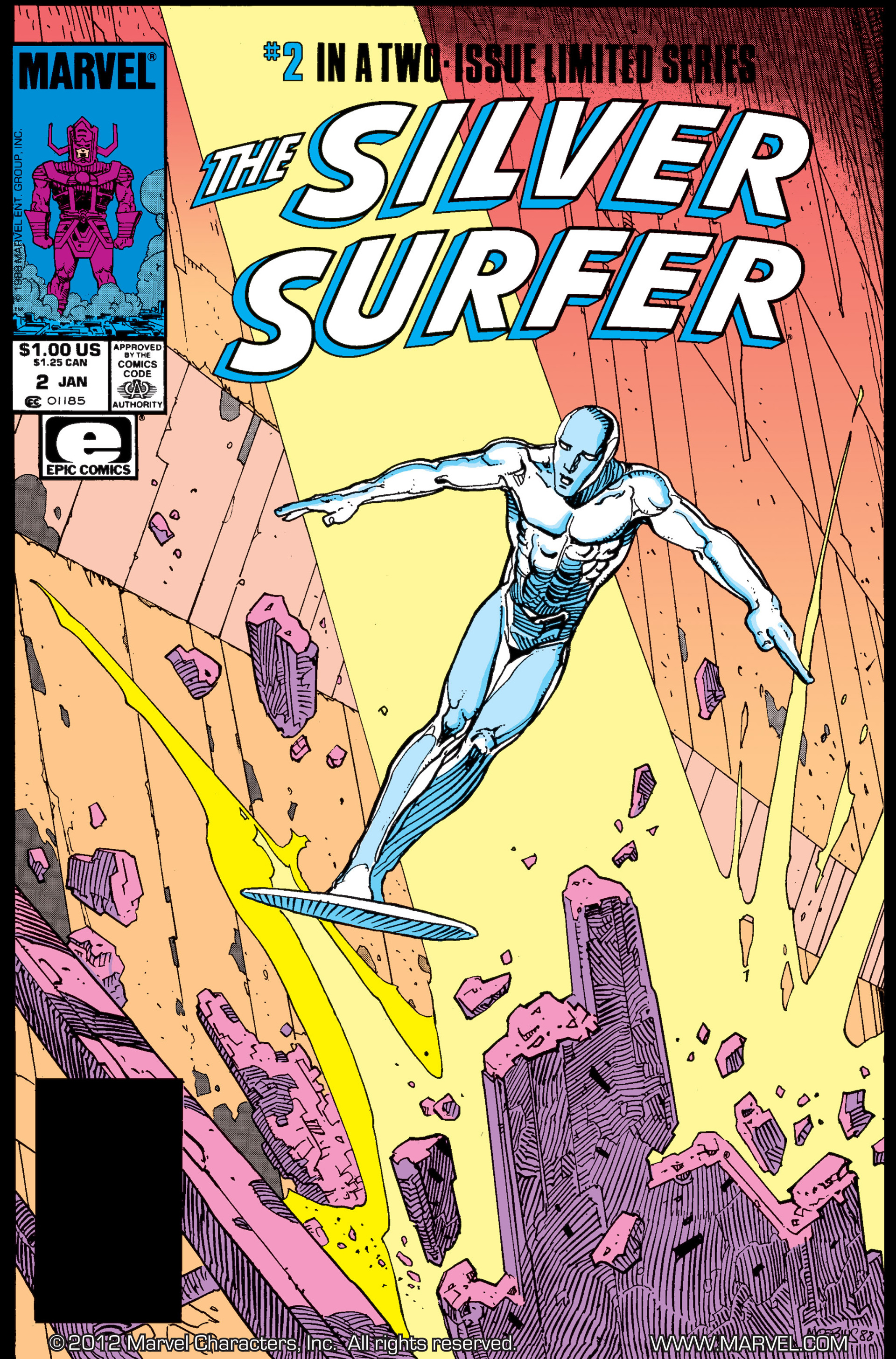 Read online Silver Surfer (1988) comic -  Issue #2 - 1