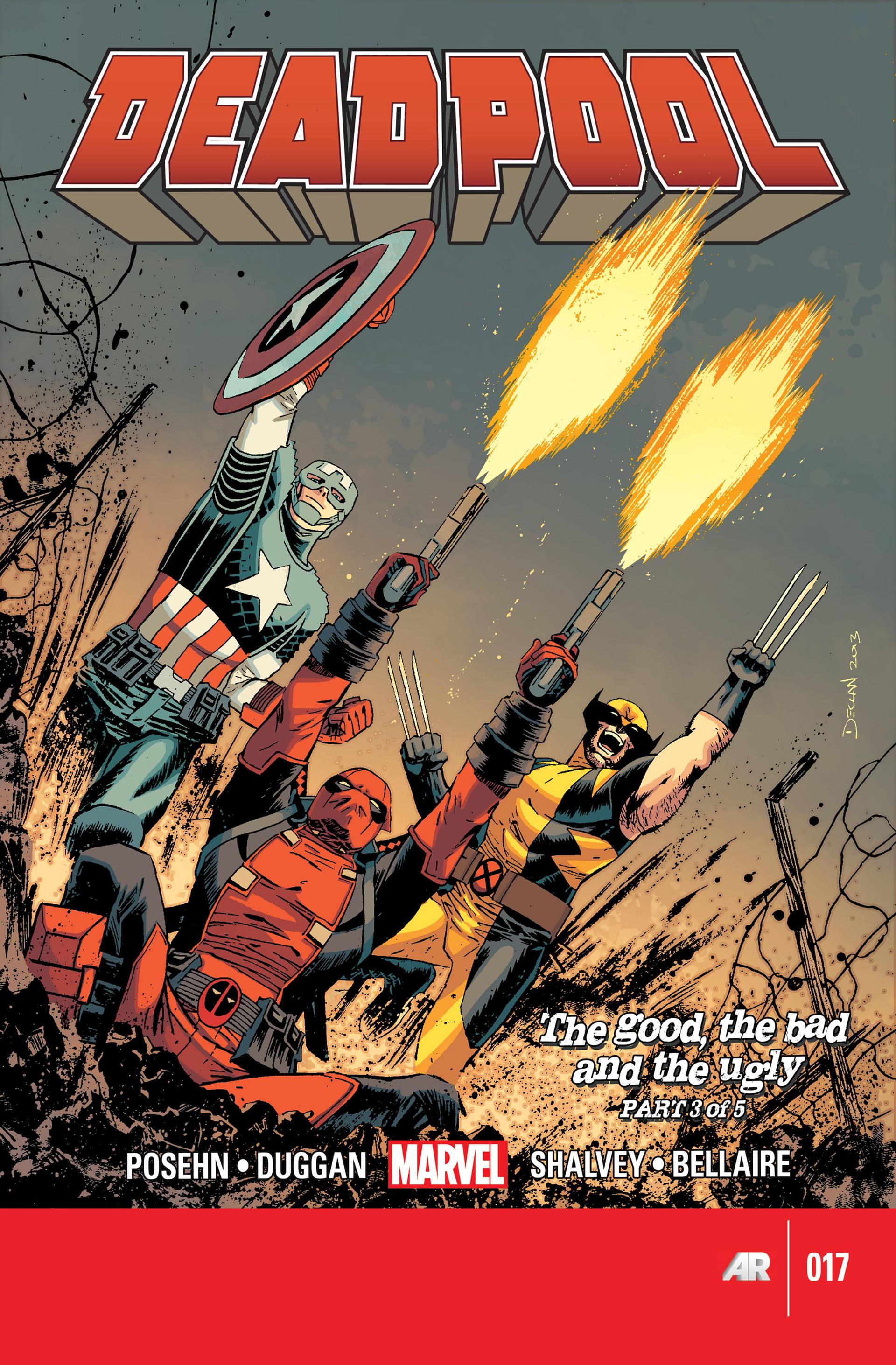 Deadpool (2013) 17 Page 1