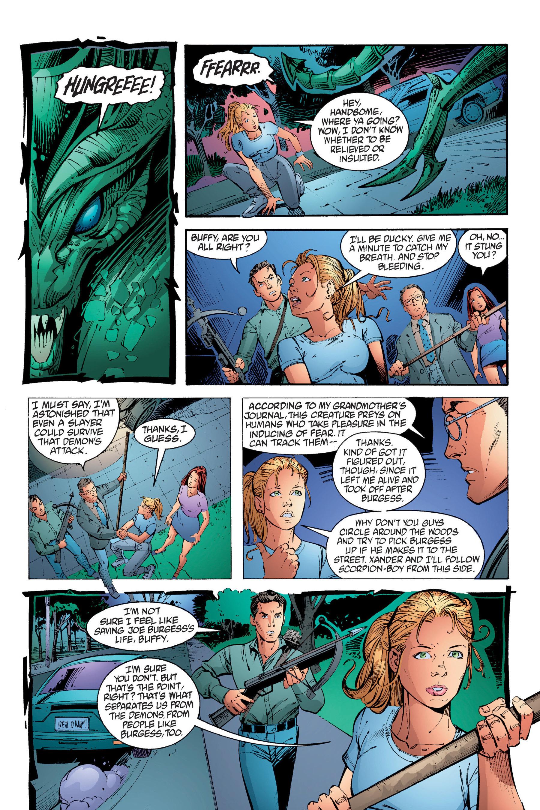 Read online Buffy the Vampire Slayer: Omnibus comic -  Issue # TPB 4 - 257