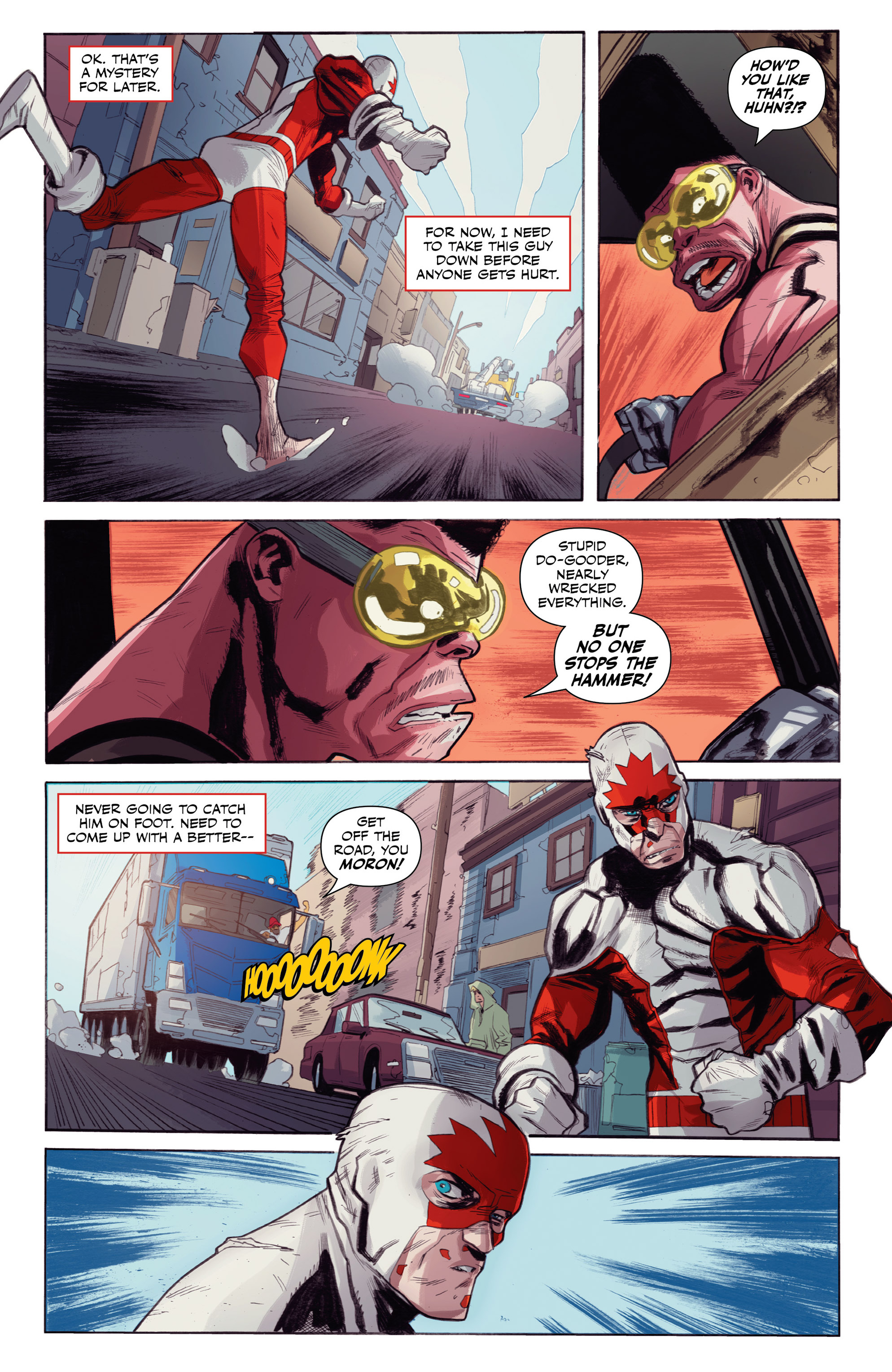 Read online All-New Classic Captain Canuck comic -  Issue #0 - 30
