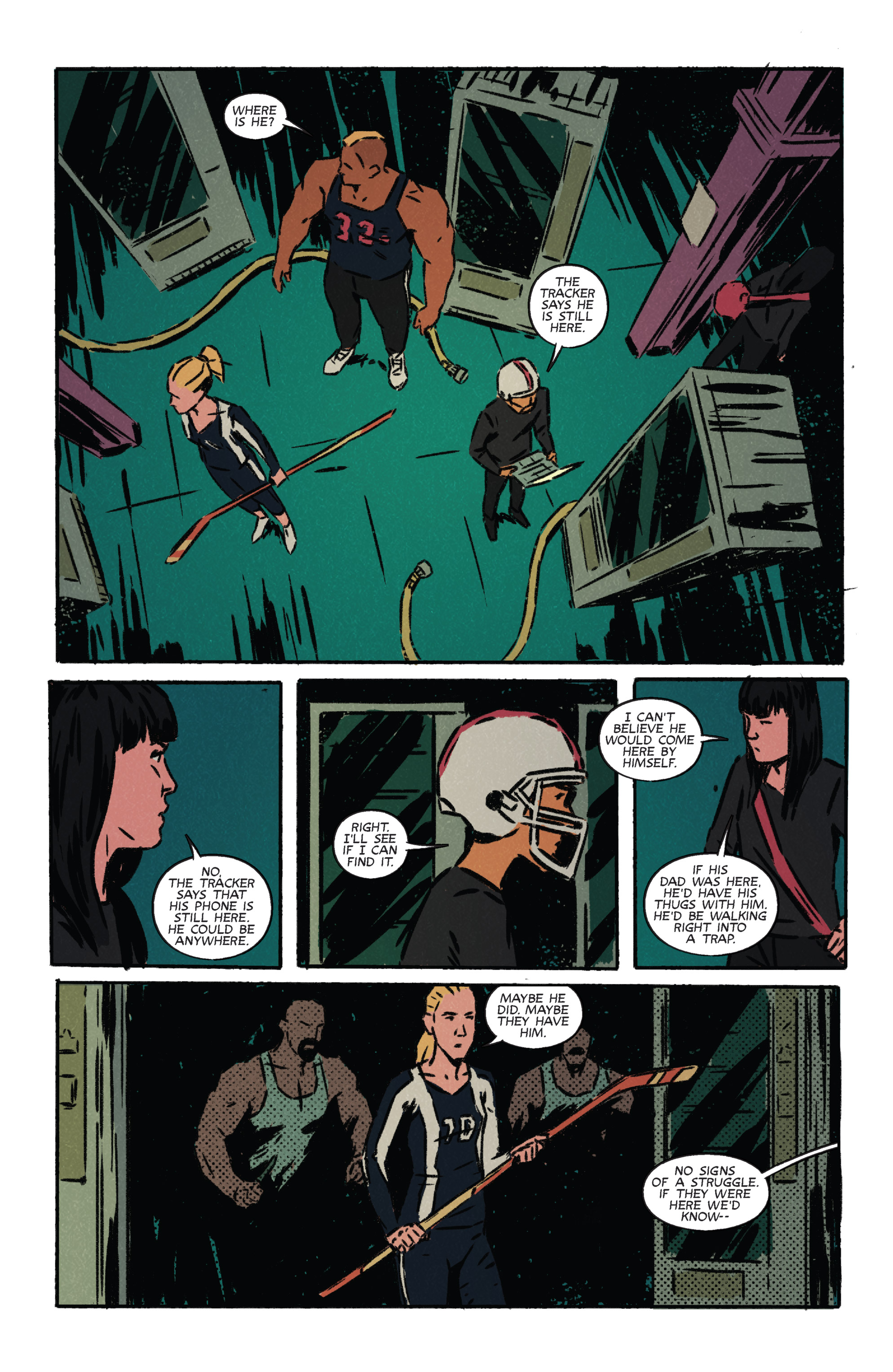 Read online Night Owl Society comic -  Issue #3 - 12