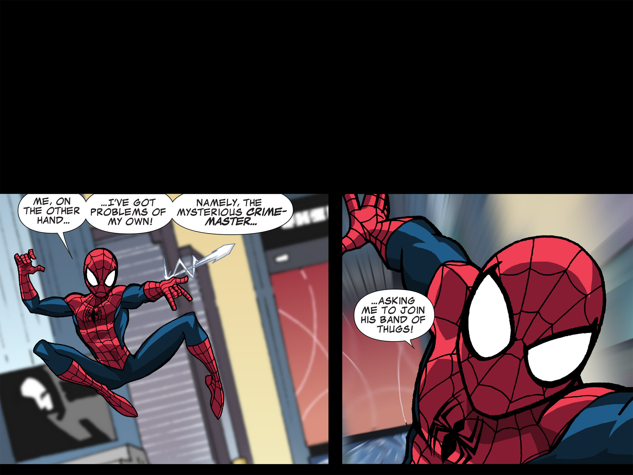 Read online Ultimate Spider-Man (Infinite Comics) (2015) comic -  Issue #15 - 17
