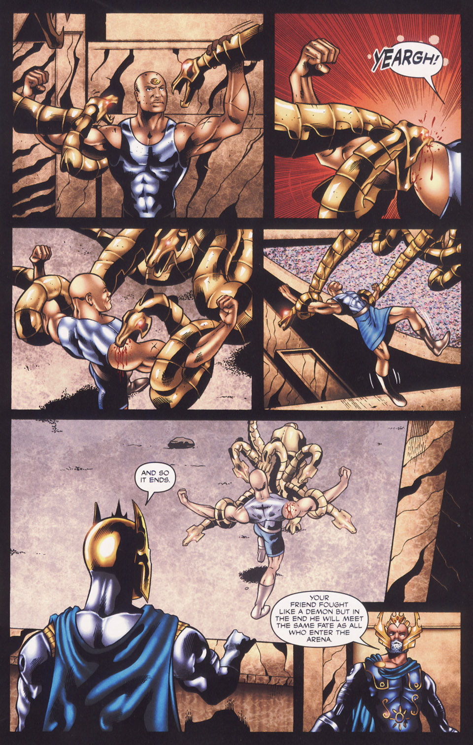 Read online Stargate SG-1: Fall of Rome comic -  Issue #3 - 9