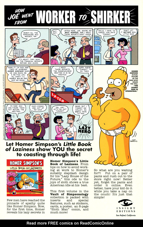 Read online Simpsons Comics comic -  Issue #206 - 31