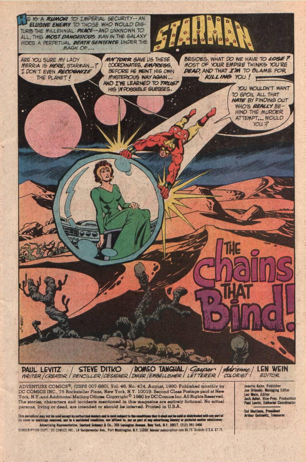 Read online Adventure Comics (1938) comic -  Issue #474 - 3