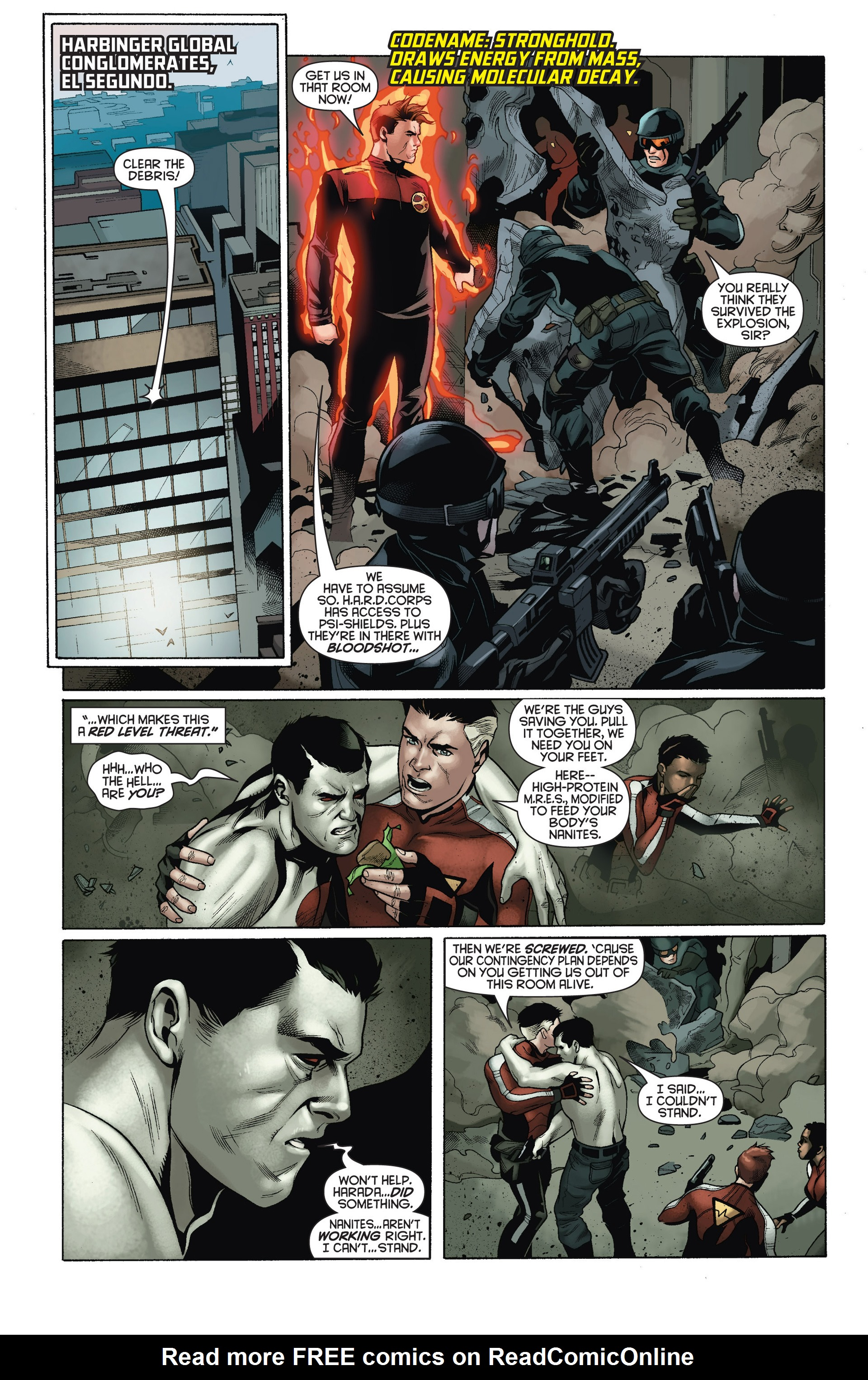 Read online Bloodshot and H.A.R.D.Corps comic -  Issue #15 - 3