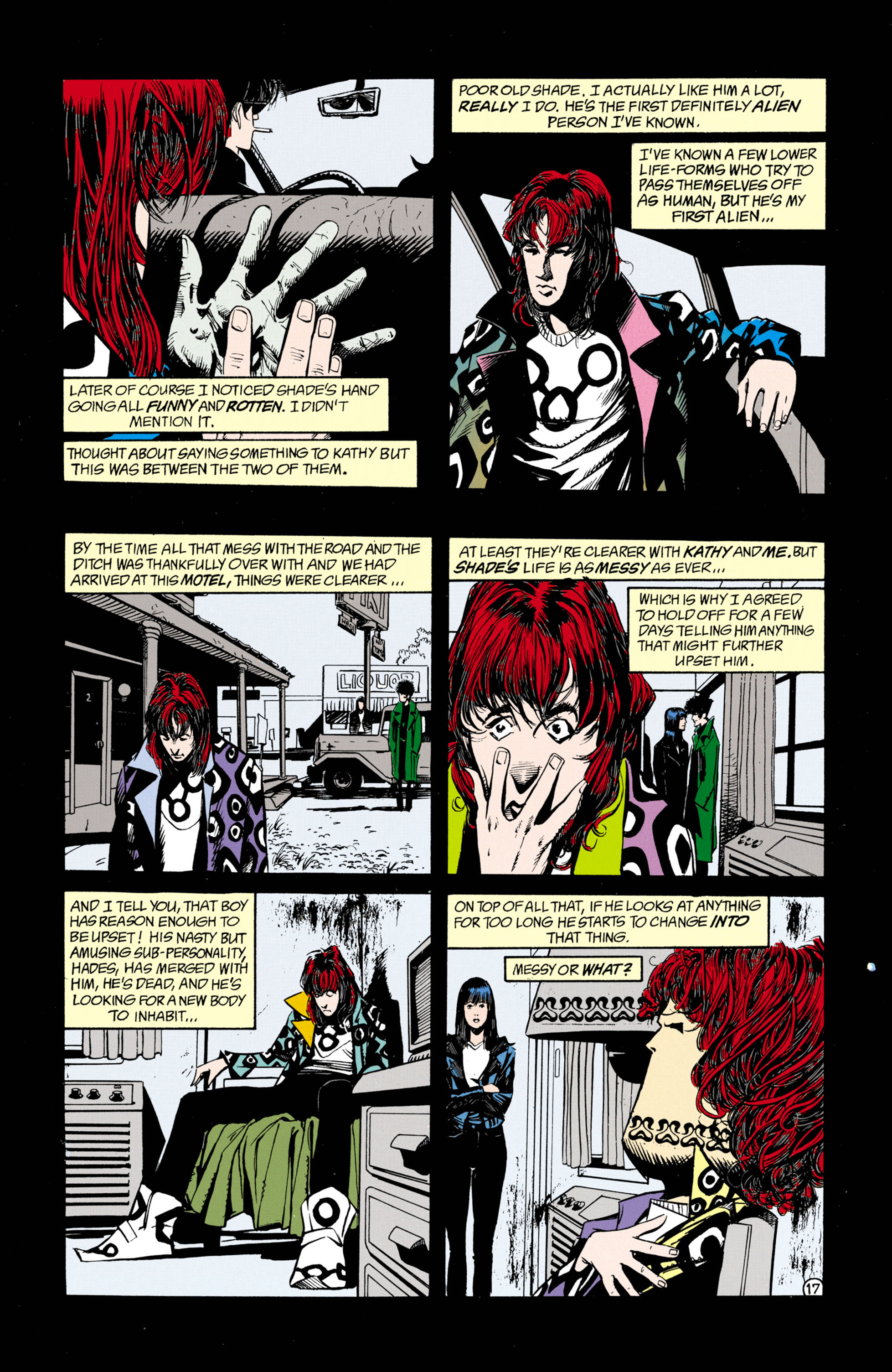Read online Shade, the Changing Man comic -  Issue #26 - 18