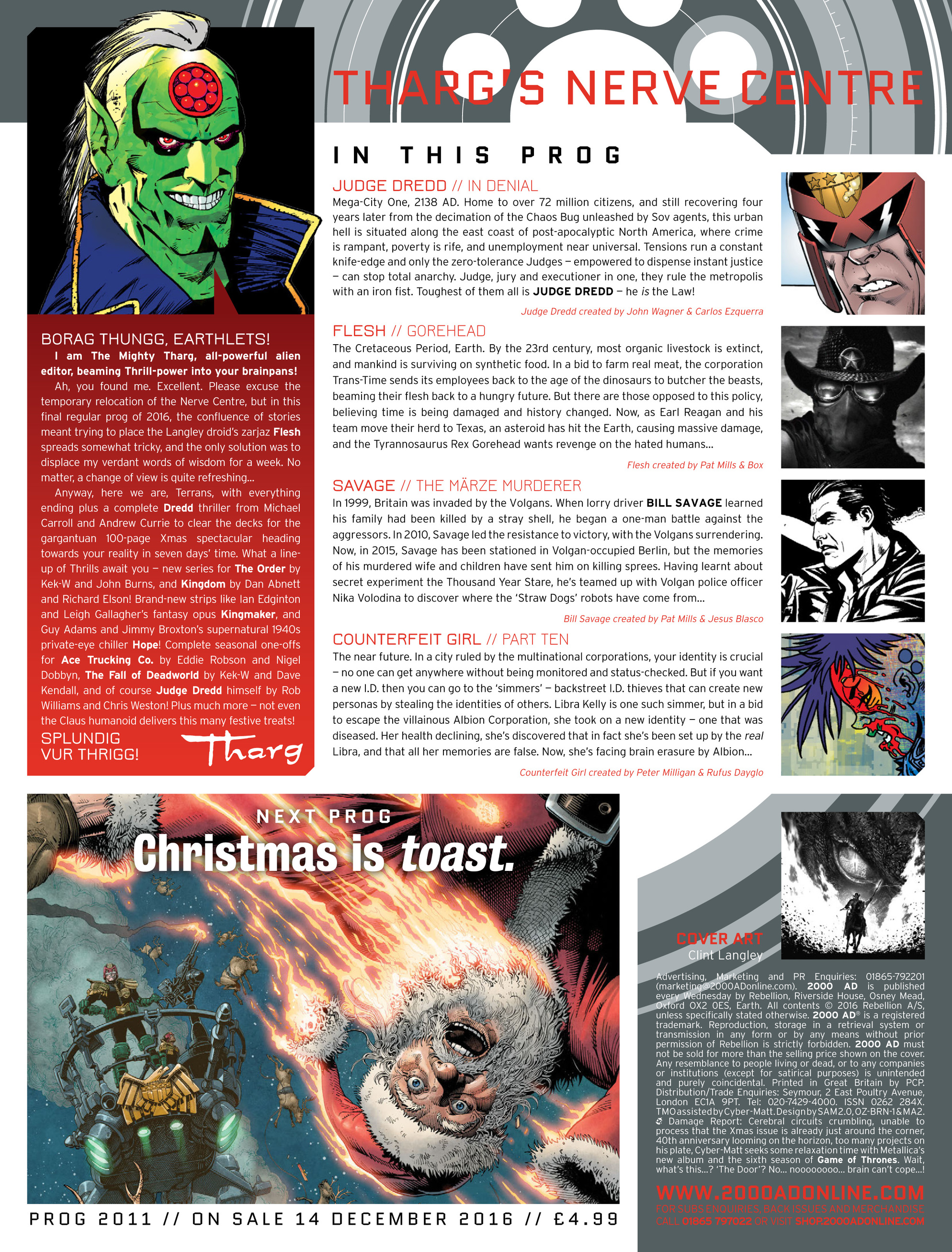 Read online 2000 AD comic -  Issue #2010 - 12