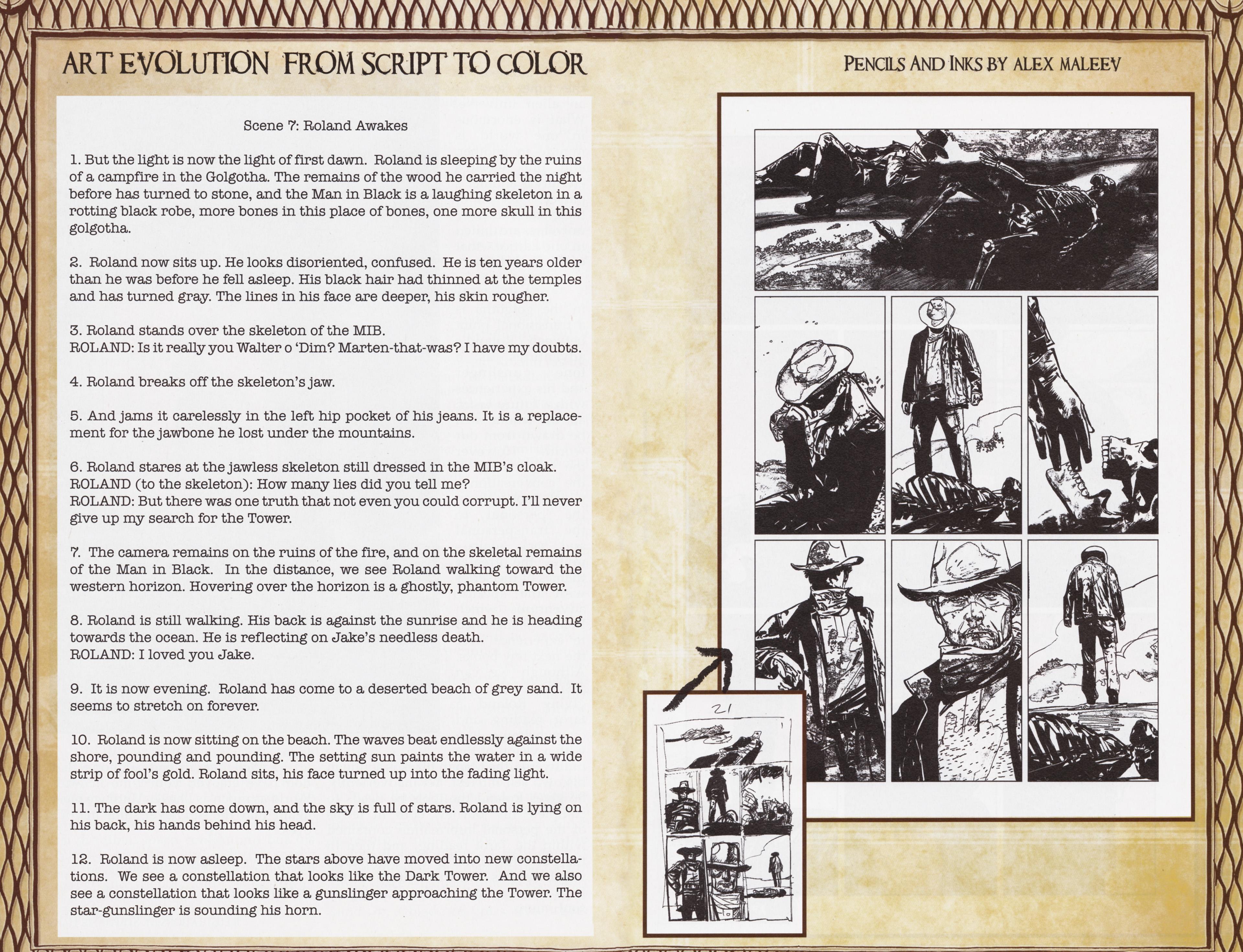 Read online Dark Tower: The Gunslinger - The Man in Black comic -  Issue #5 - 27
