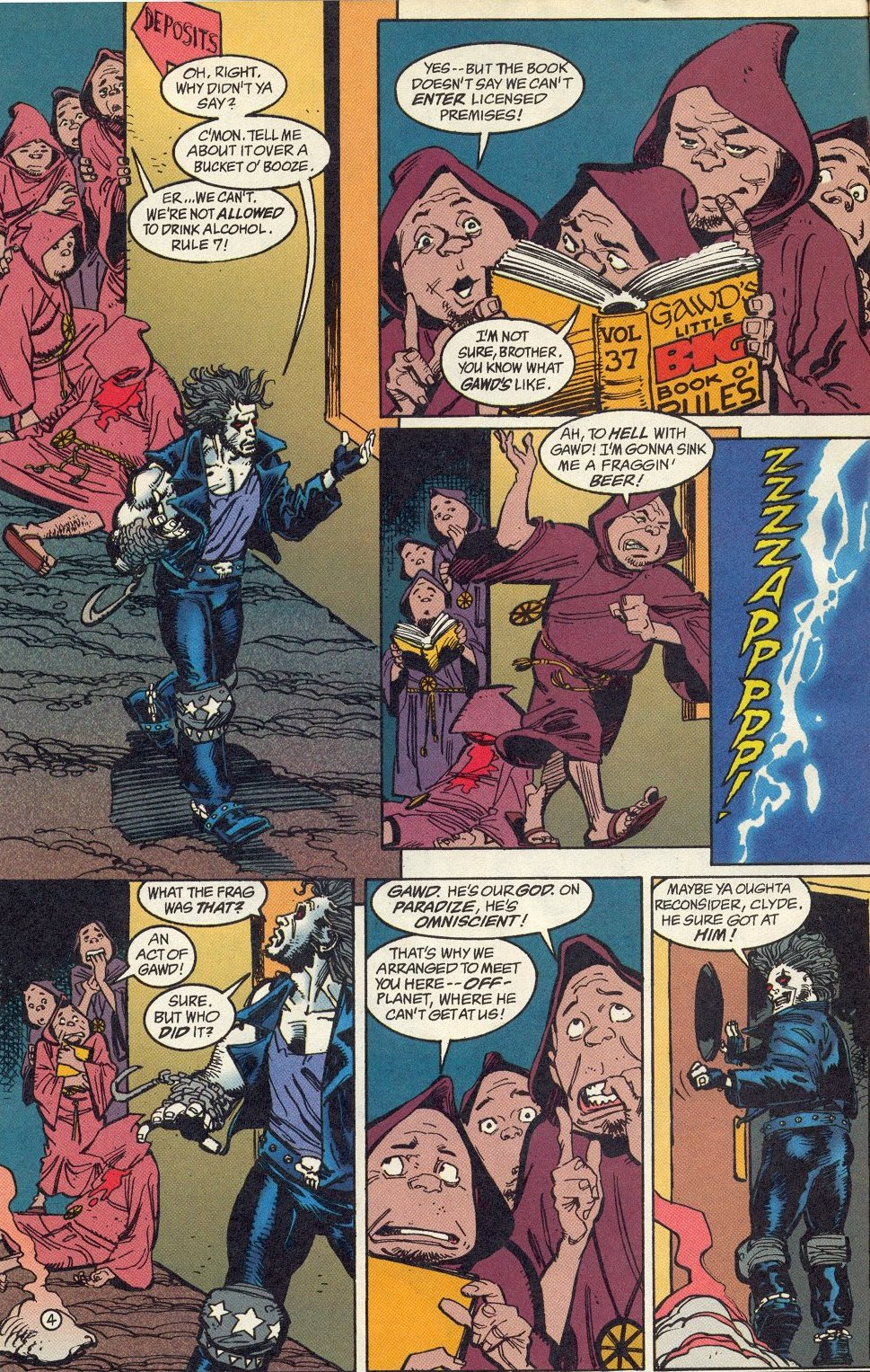 Read online Lobo: A Contract on Gawd comic -  Issue #1 - 5