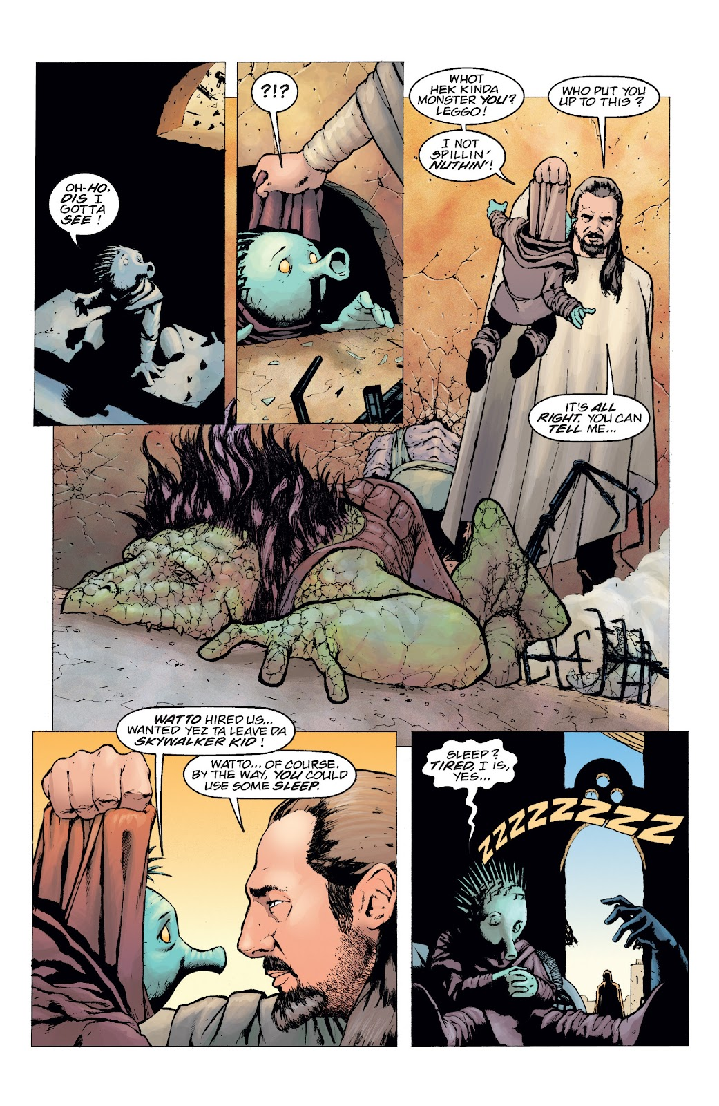 Read online Star Wars Legends: Rise of the Sith - Epic Collection comic -  Issue # TPB 2 (Part 5) - 6