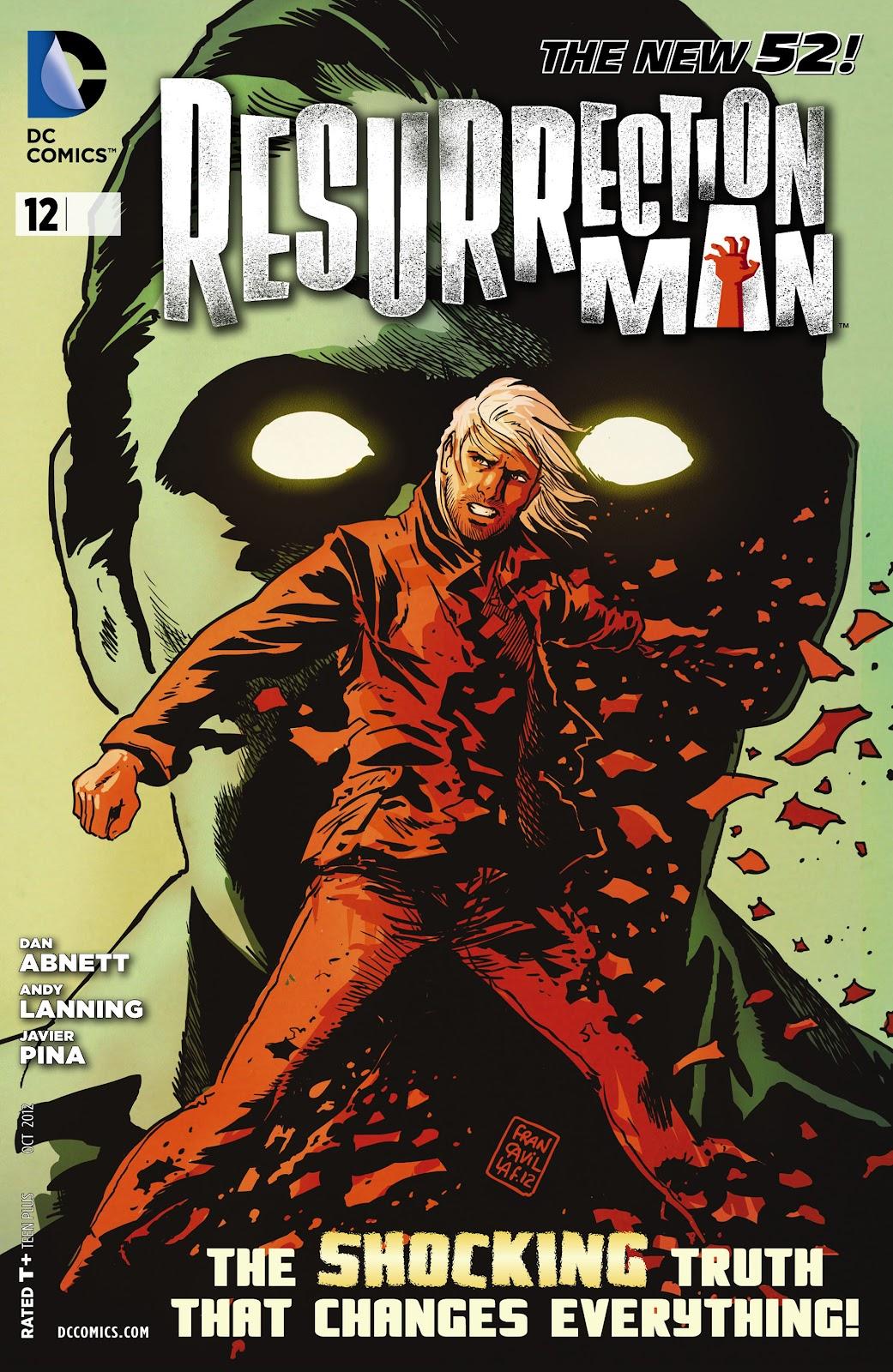 Resurrection Man (2011) 12 Page 1