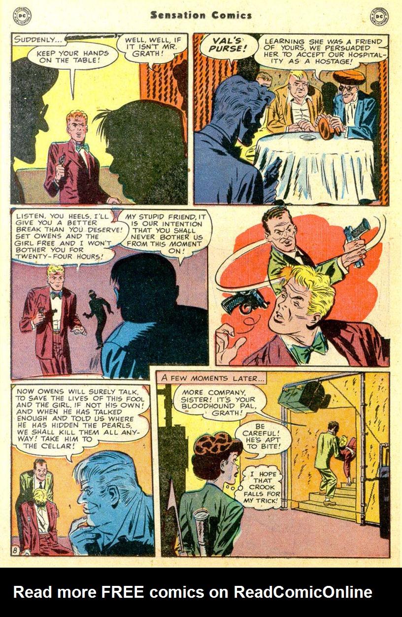 Read online Sensation (Mystery) Comics comic -  Issue #85 - 23