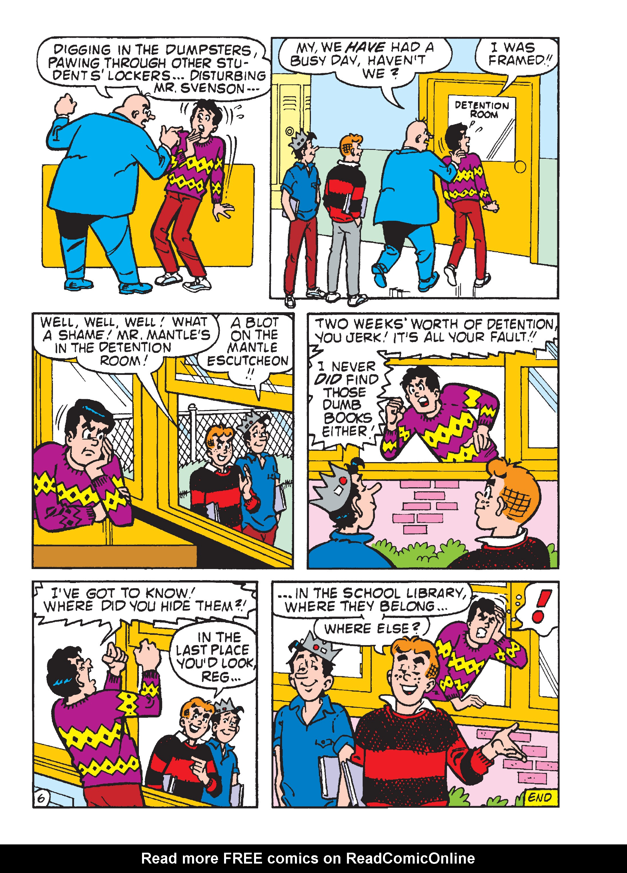 Read online Archie 1000 Page Comics Blowout! comic -  Issue # TPB (Part 4) - 105