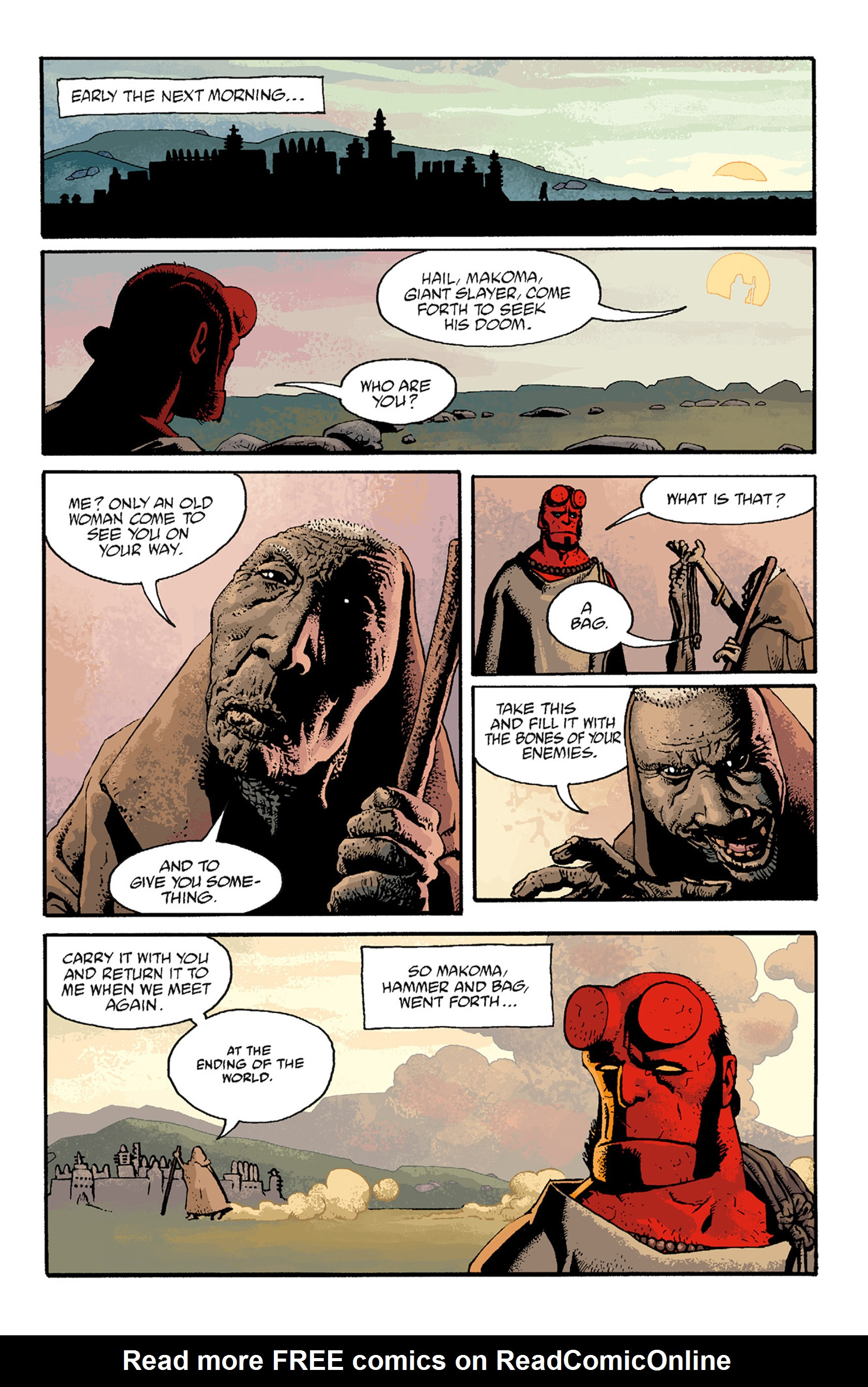 Read online Hellboy: The Troll Witch and Others comic -  Issue # TPB - 93