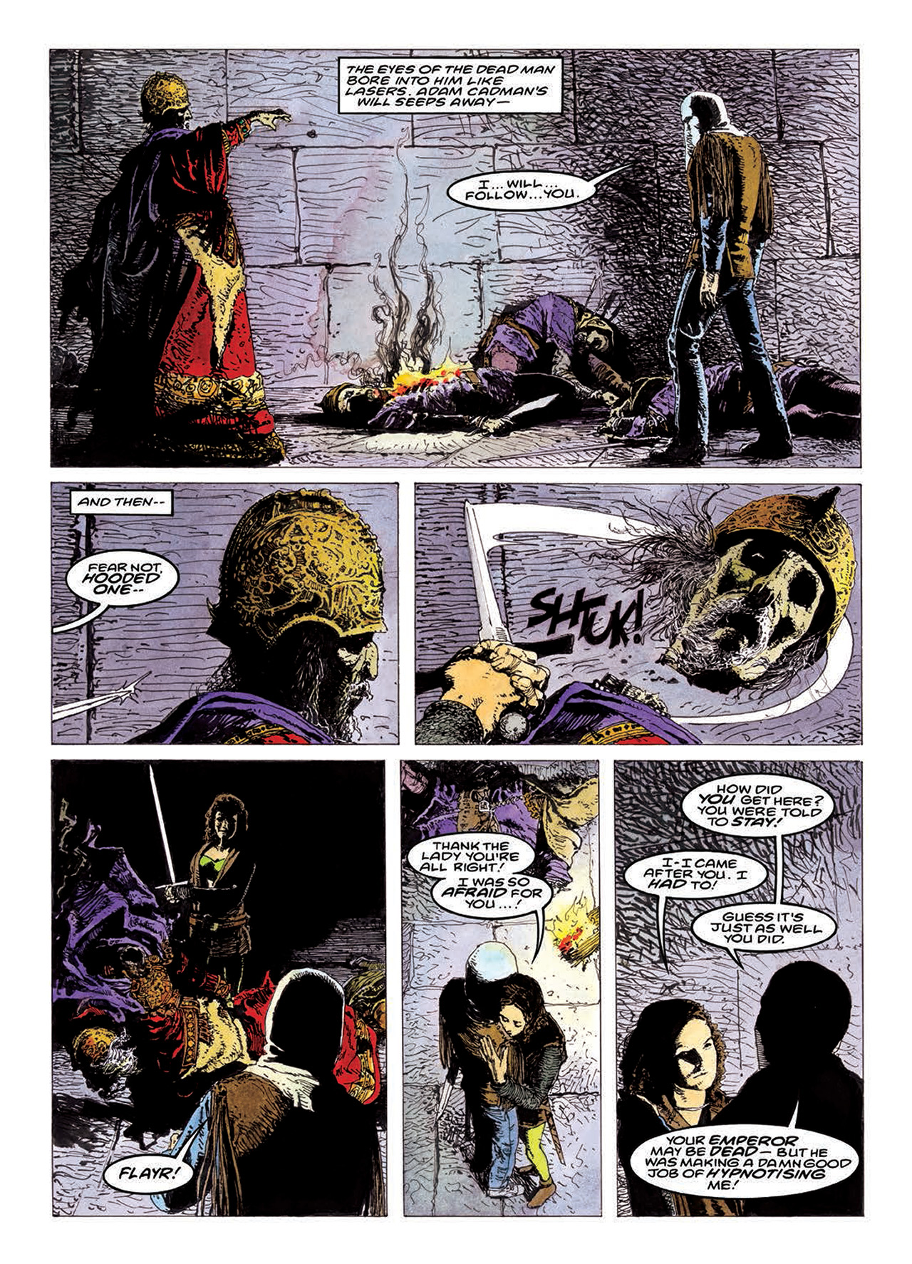 Read online Mazeworld comic -  Issue # TPB - 148