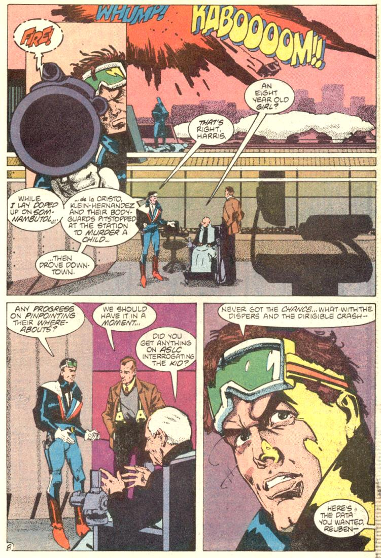 Read online American Flagg! comic -  Issue #9 - 9