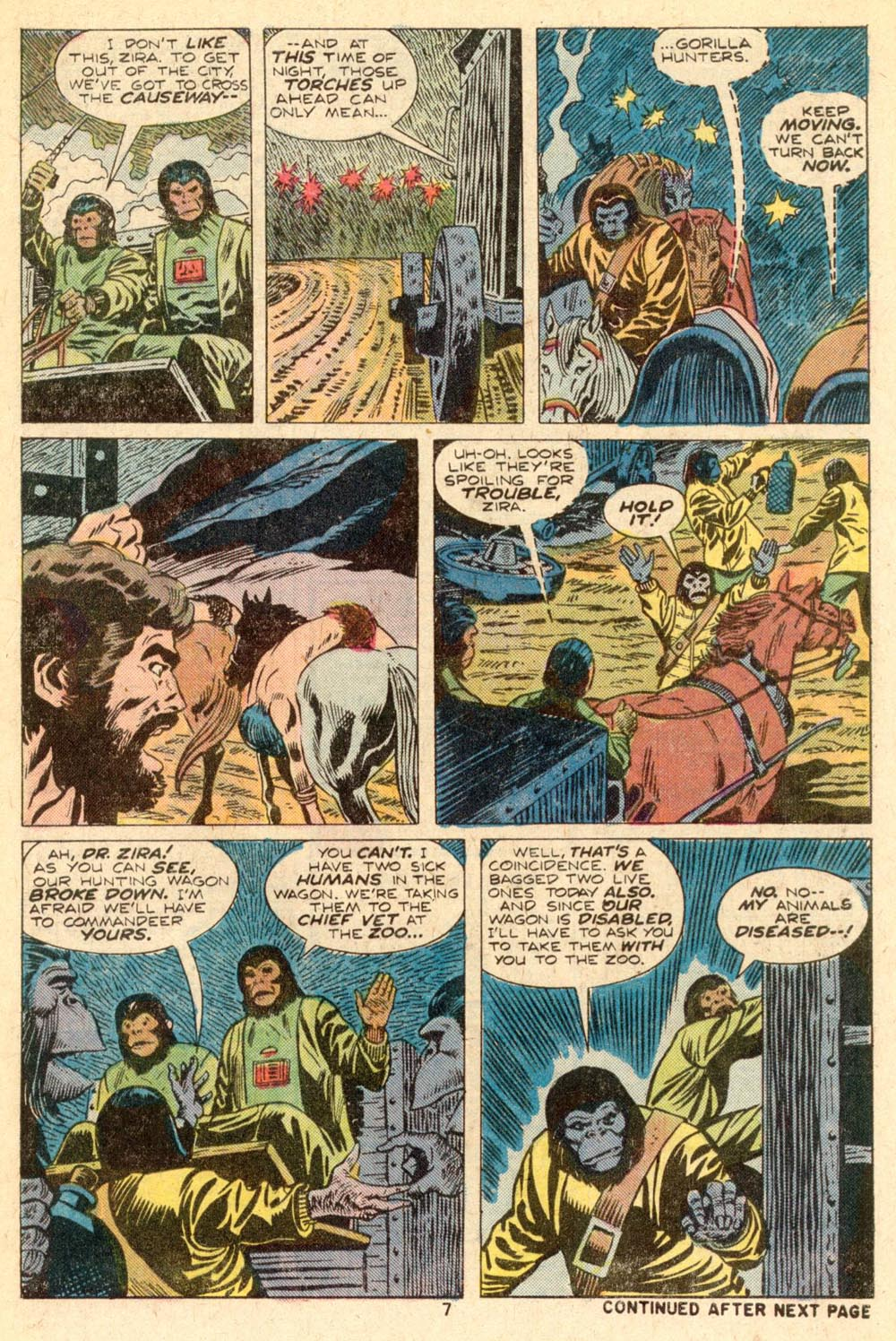 Read online Adventures on the Planet of the Apes comic -  Issue #5 - 6