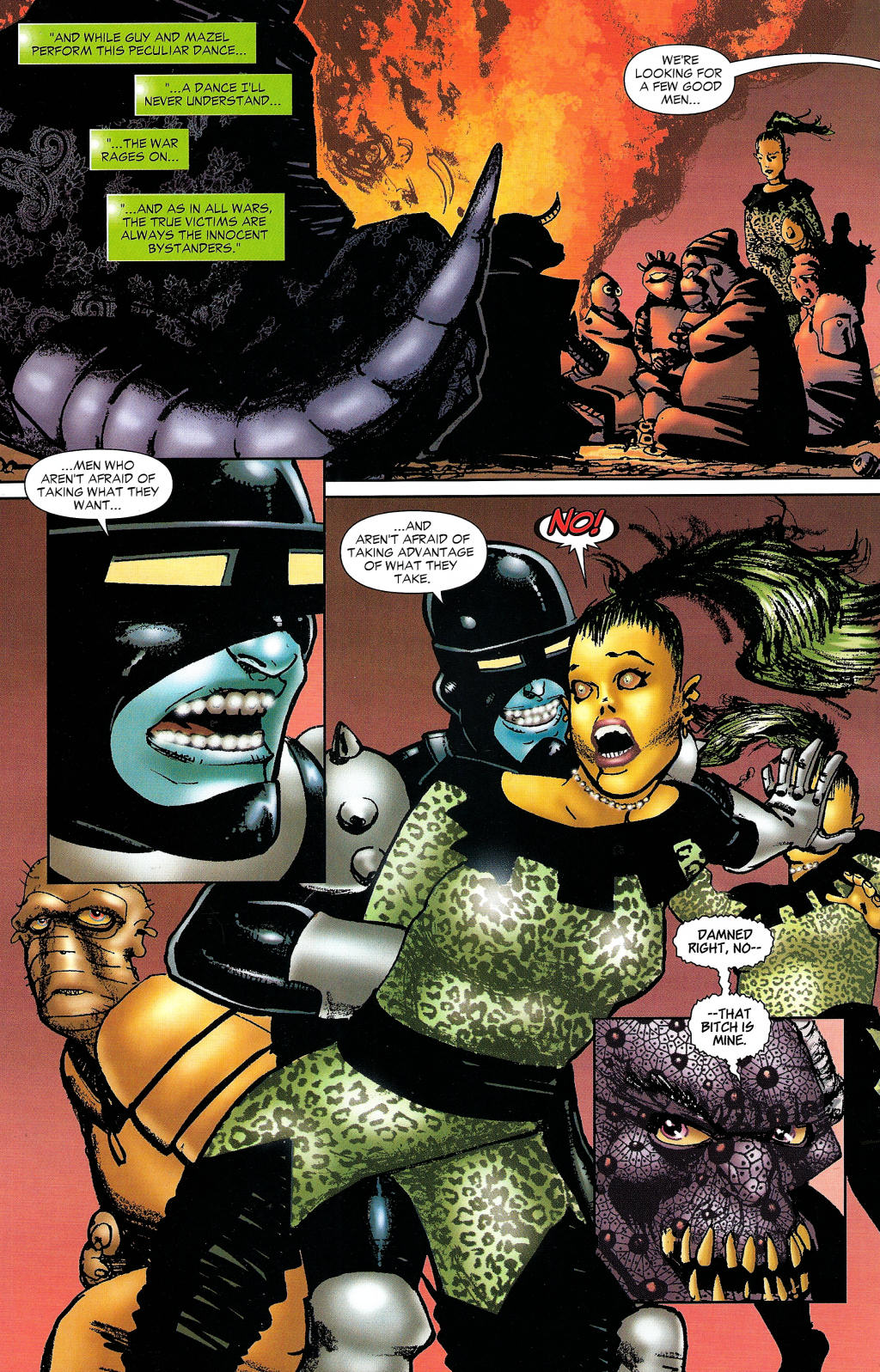 Read online Guy Gardner: Collateral Damage comic -  Issue #1 - 33