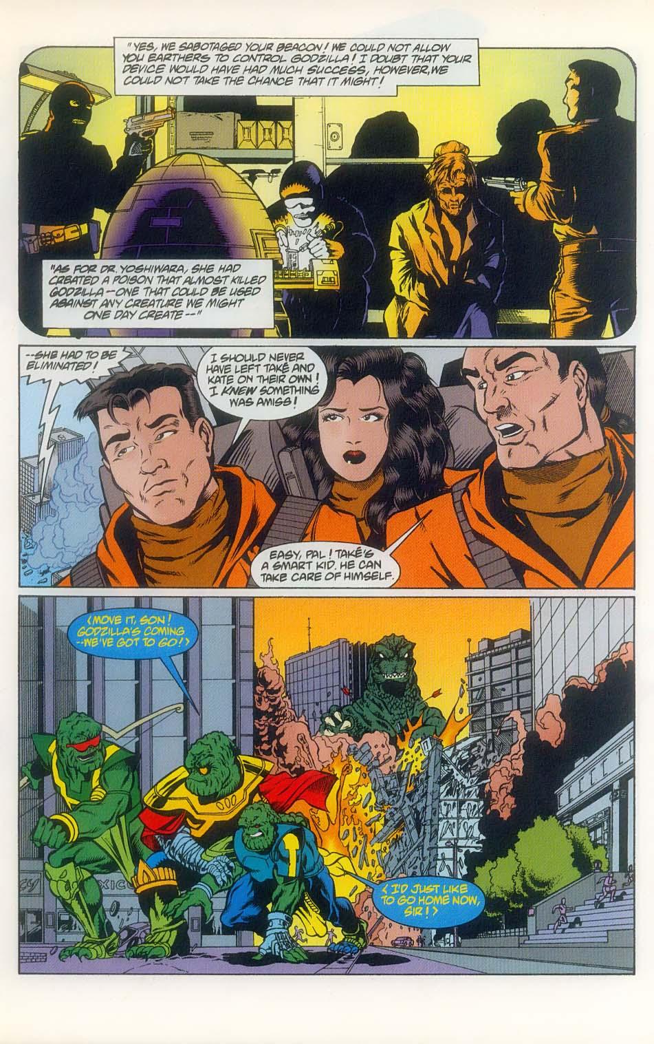 Godzilla (1995) Issue #8 #9 - English 9