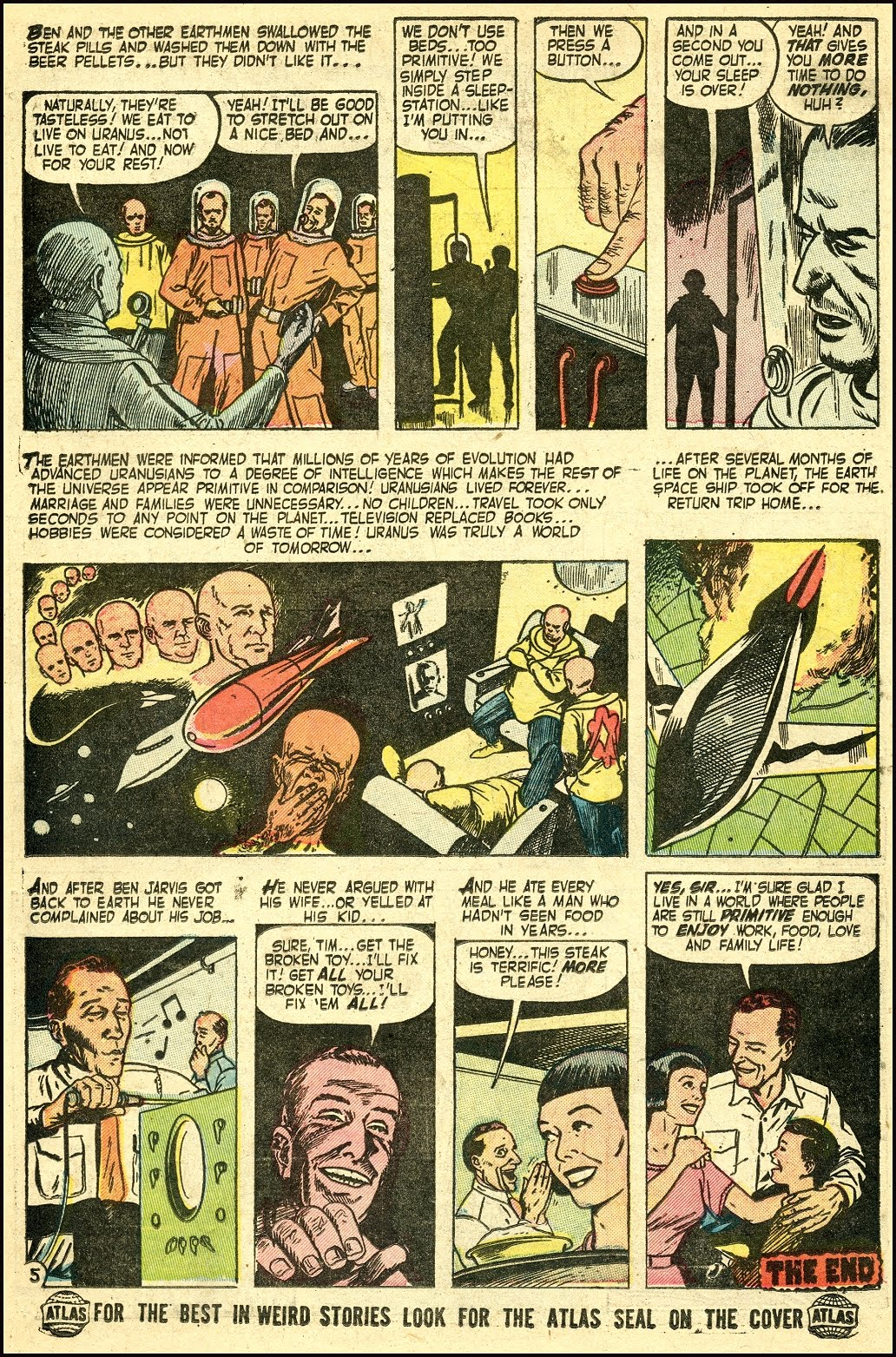 Read online Adventures into Weird Worlds comic -  Issue #25 - 21