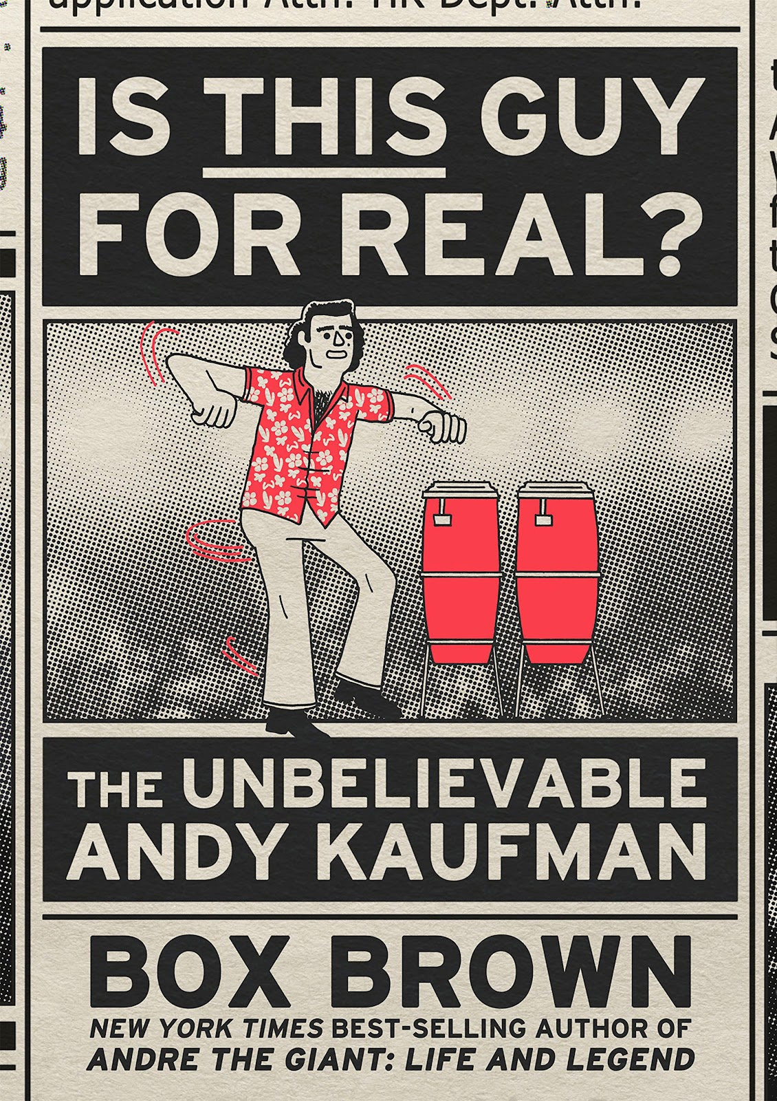 Read online Is This Guy For Real?: The Unbelievable Andy Kaufman comic -  Issue # TPB (Part 1) - 1