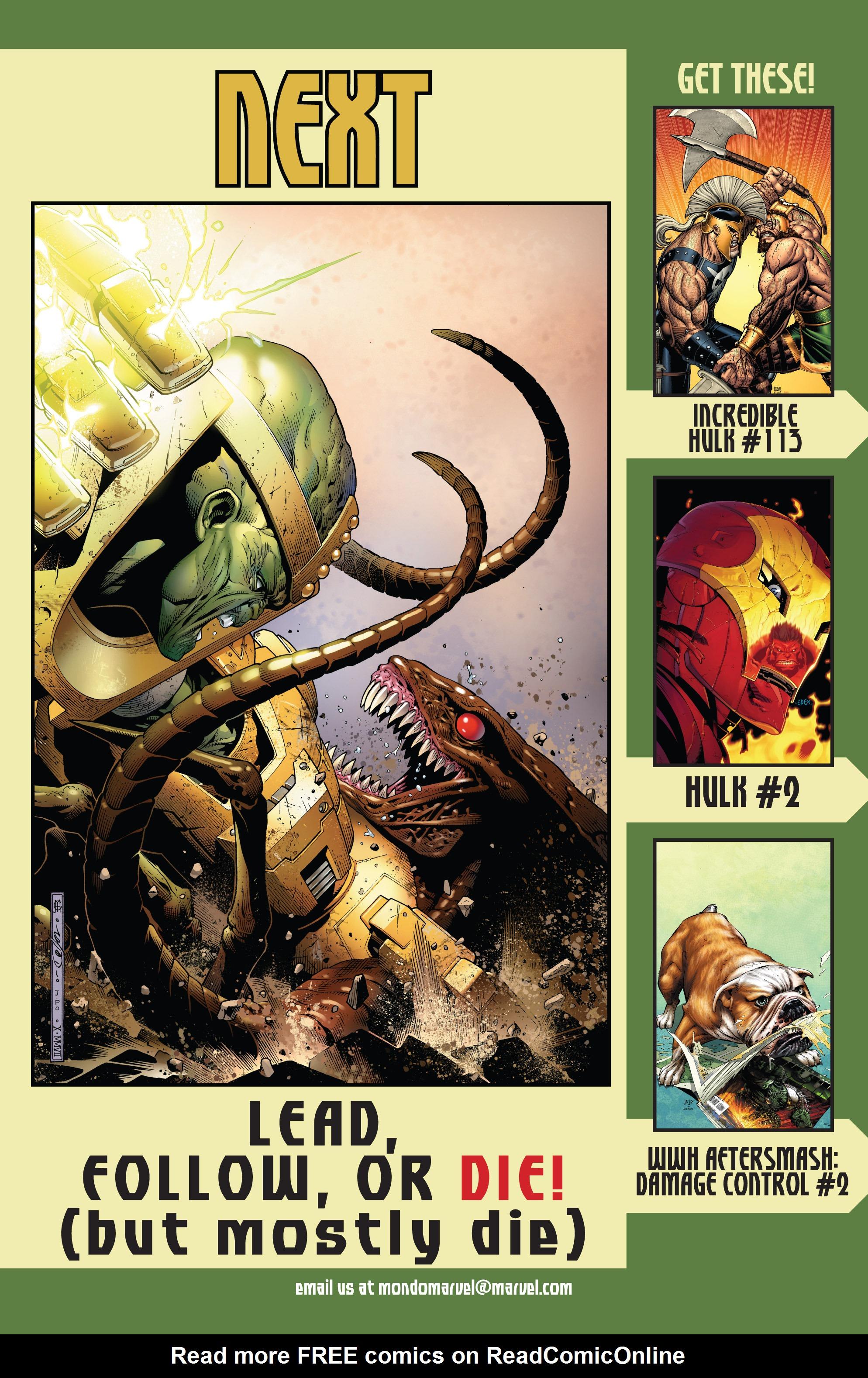 Read online World War Hulk Aftersmash: Warbound, Vol. 1 comic -  Issue #2 - 26
