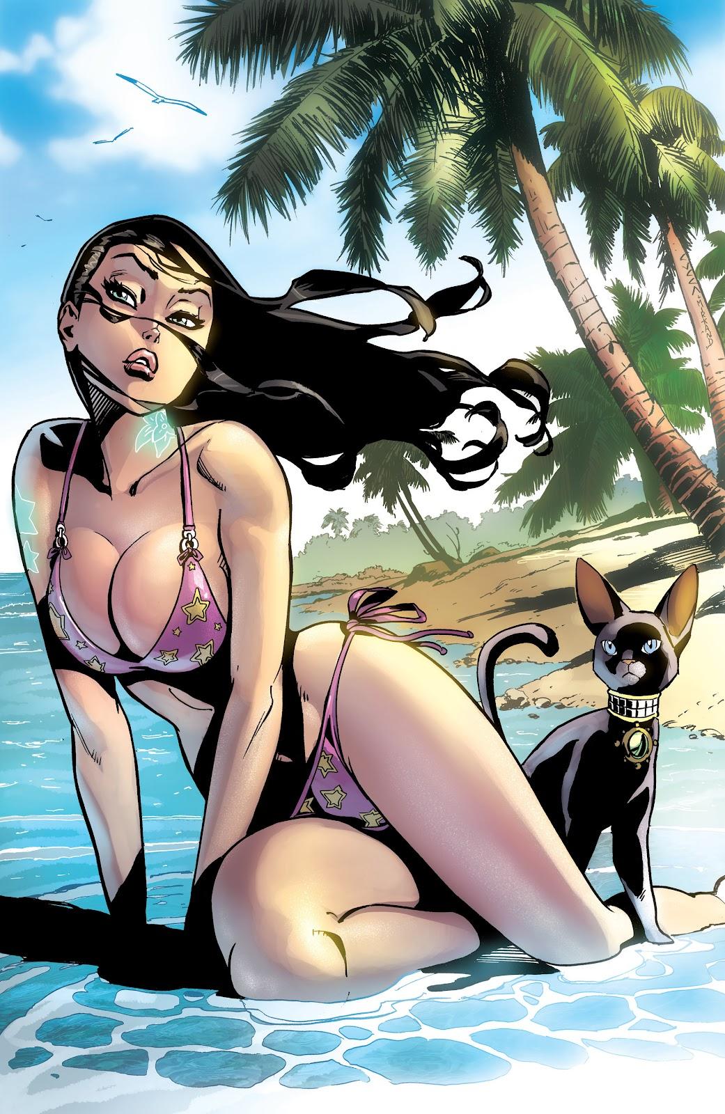 Read online Aspen Splash: Swimsuit Spectacular comic -  Issue # Issue 2013 - 4