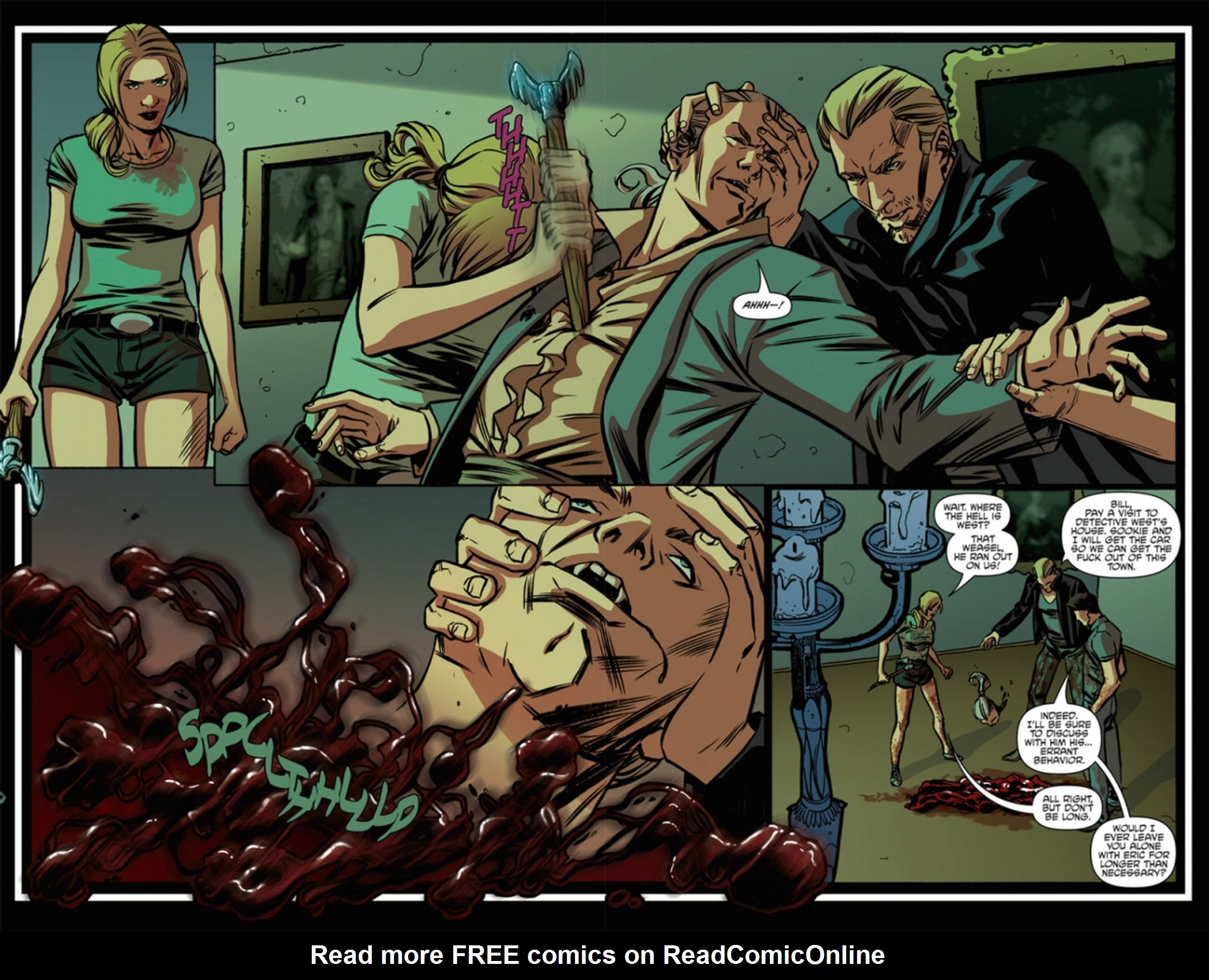 Read online True Blood: French Quarter comic -  Issue #6 - 15