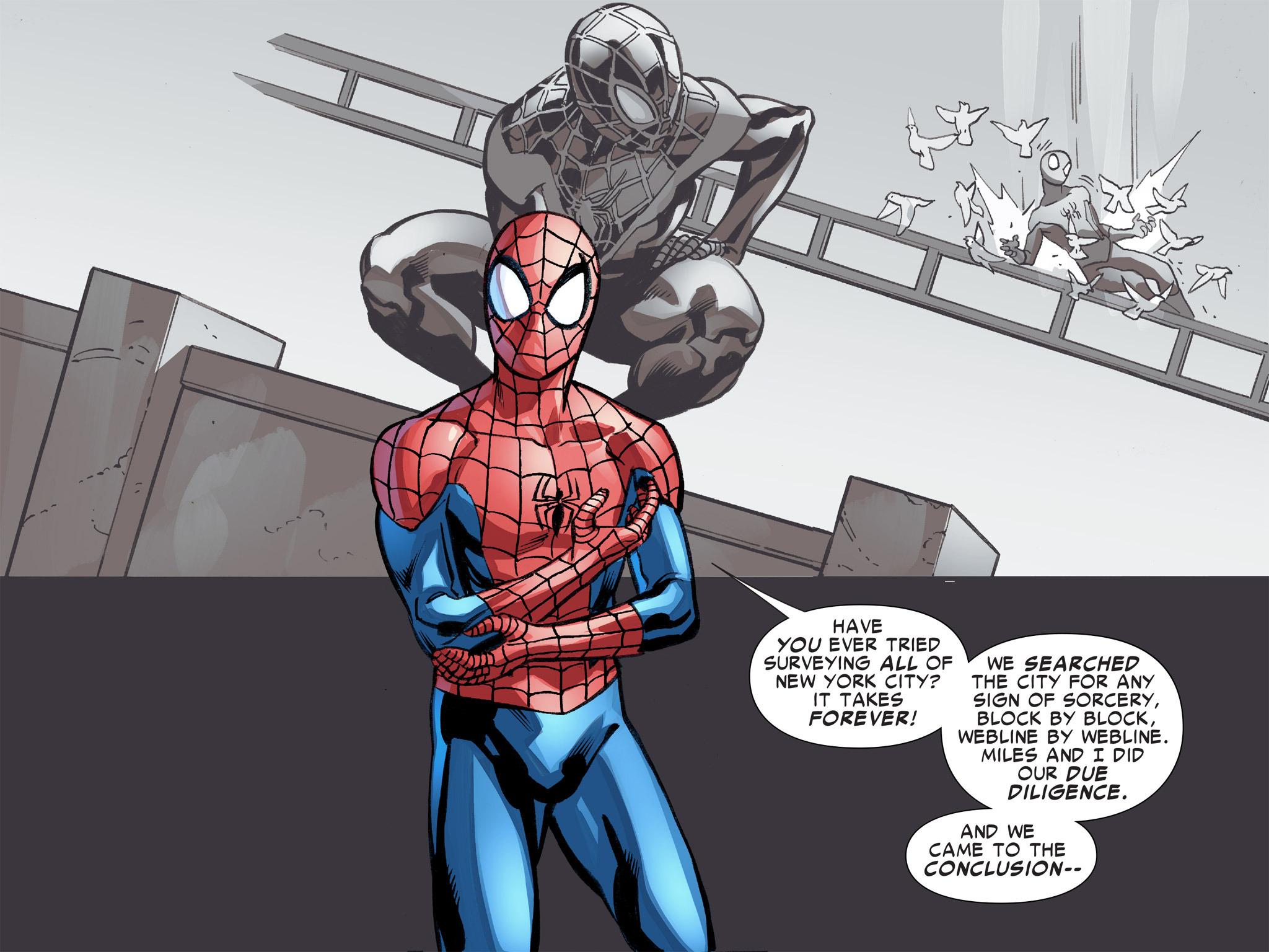 Read online Ultimate Spider-Man (Infinite Comics) (2016) comic -  Issue #8 - 33