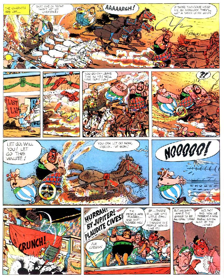 Read online Asterix comic -  Issue #4 - 40