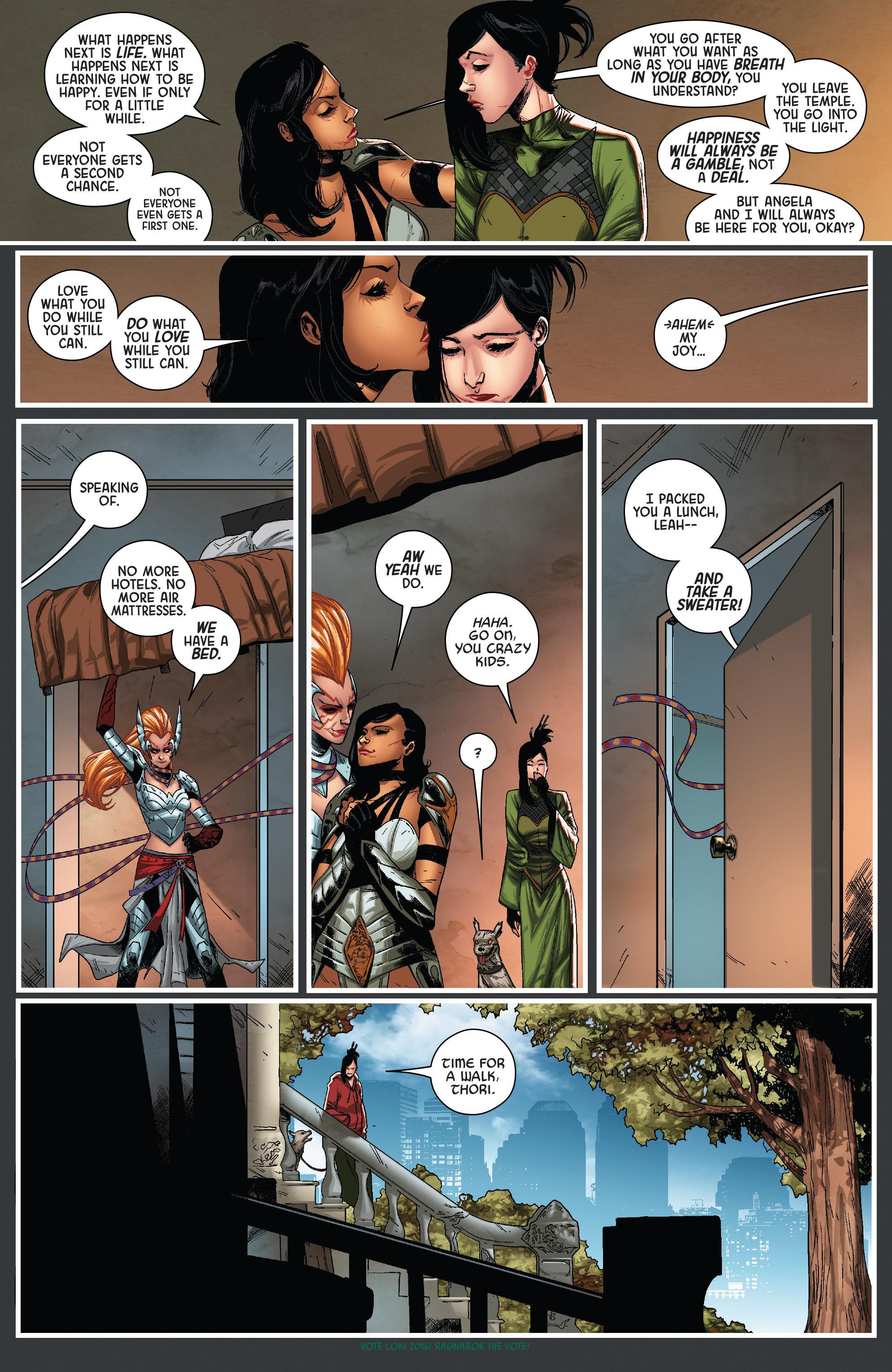 Read online Angela: Queen Of Hel comic -  Issue #6 - 5