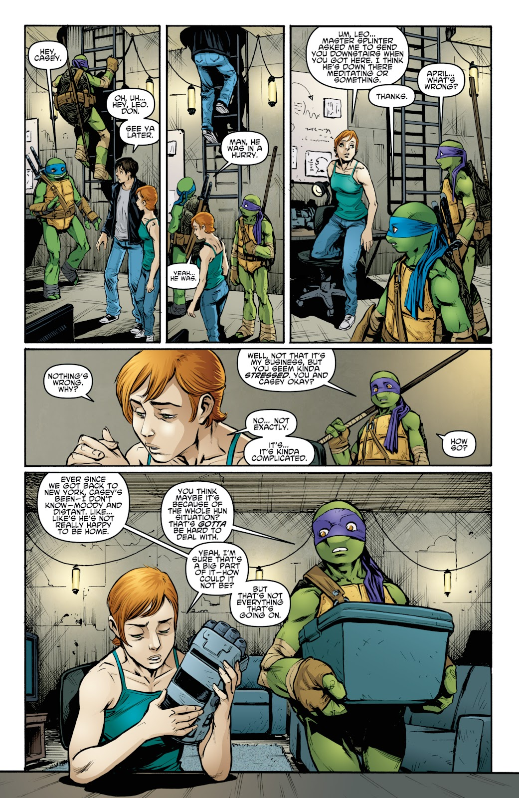 Read online Teenage Mutant Ninja Turtles: The IDW Collection comic -  Issue # TPB 4 (Part 3) - 19