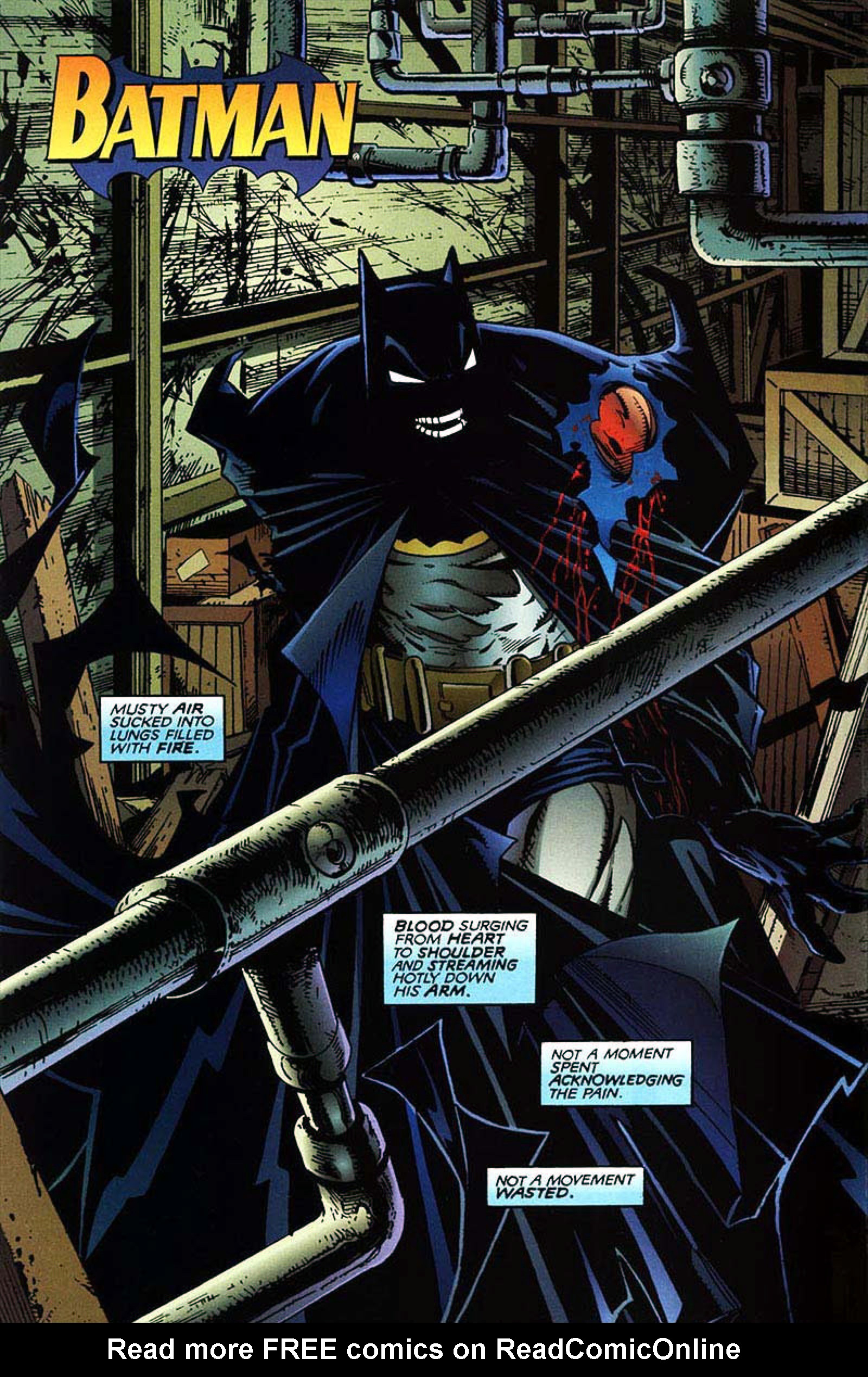 Read online Spawn-Batman comic -  Issue # Full - 4