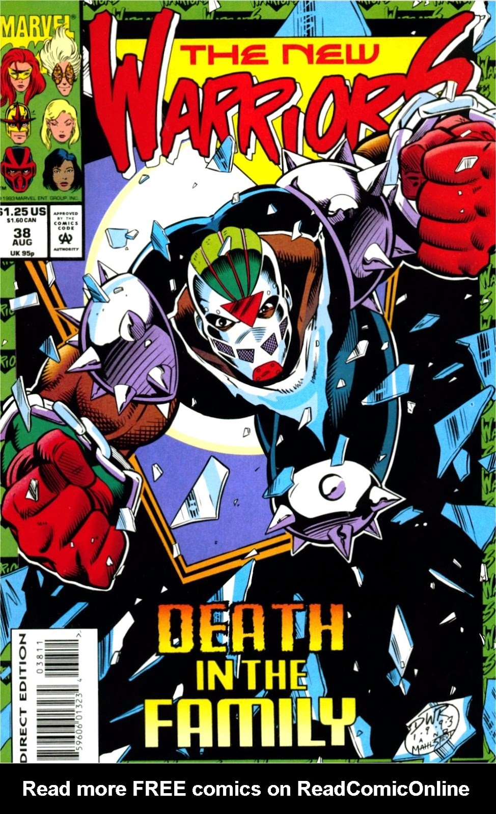 The New Warriors Issue #38 #42 - English 1