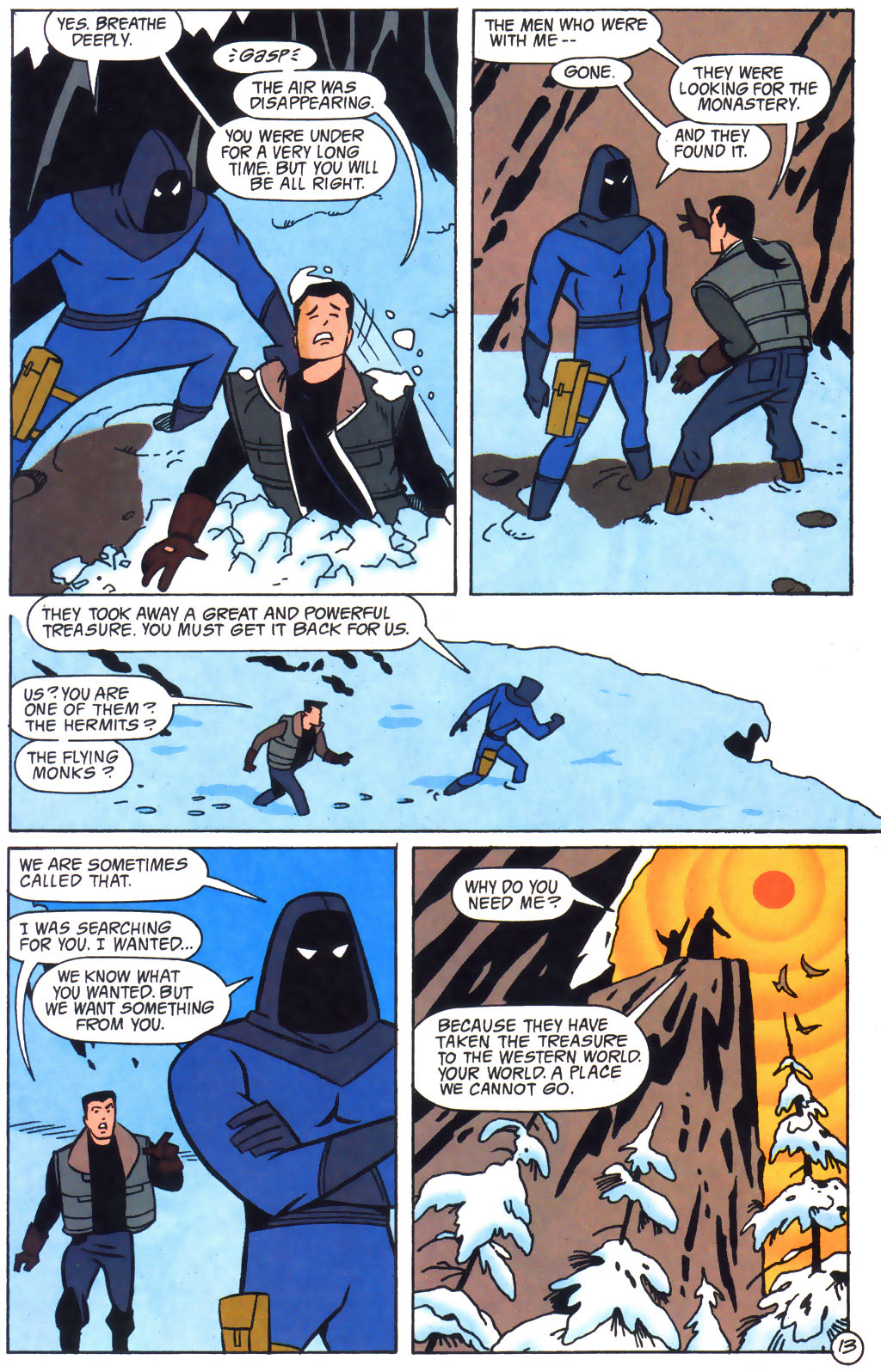 read online the batman adventures the lost years comic issue 5