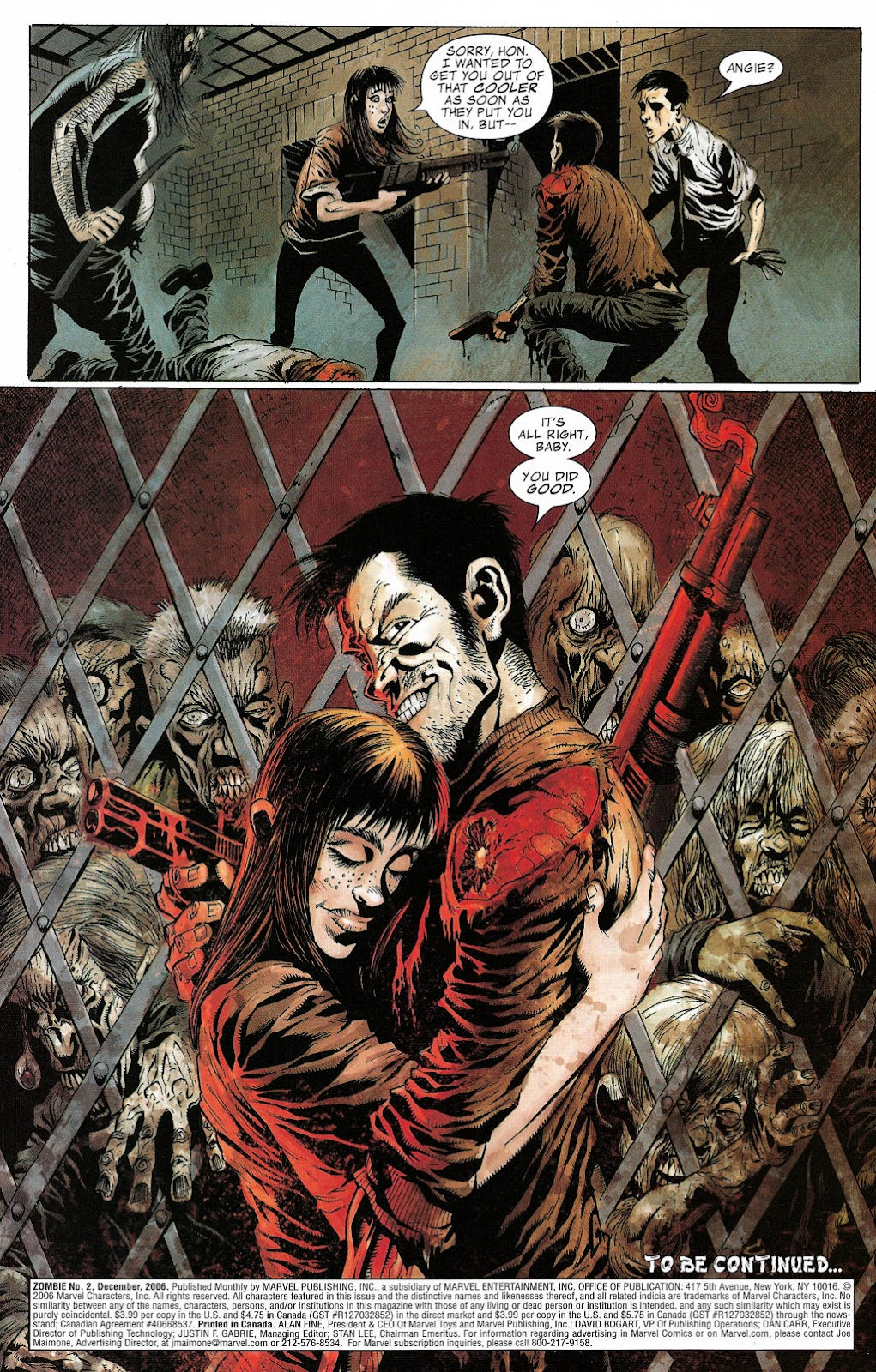 Read online Zombie (2006) comic -  Issue #2 - 23