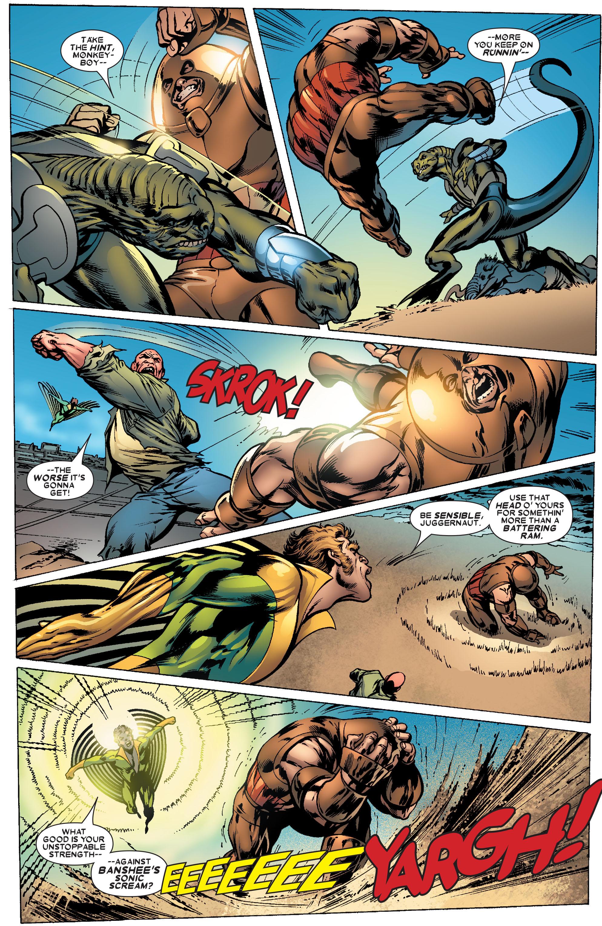 Read online Uncanny X-Men (1963) comic -  Issue #463 - 18
