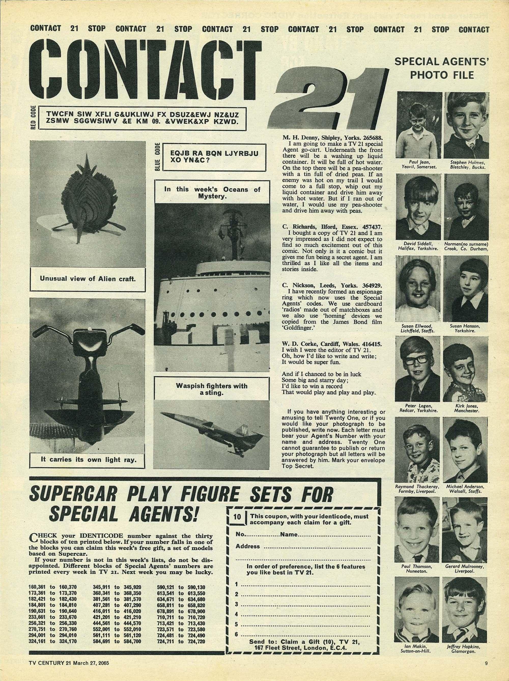 Read online TV Century 21 (TV 21) comic -  Issue #10 - 9