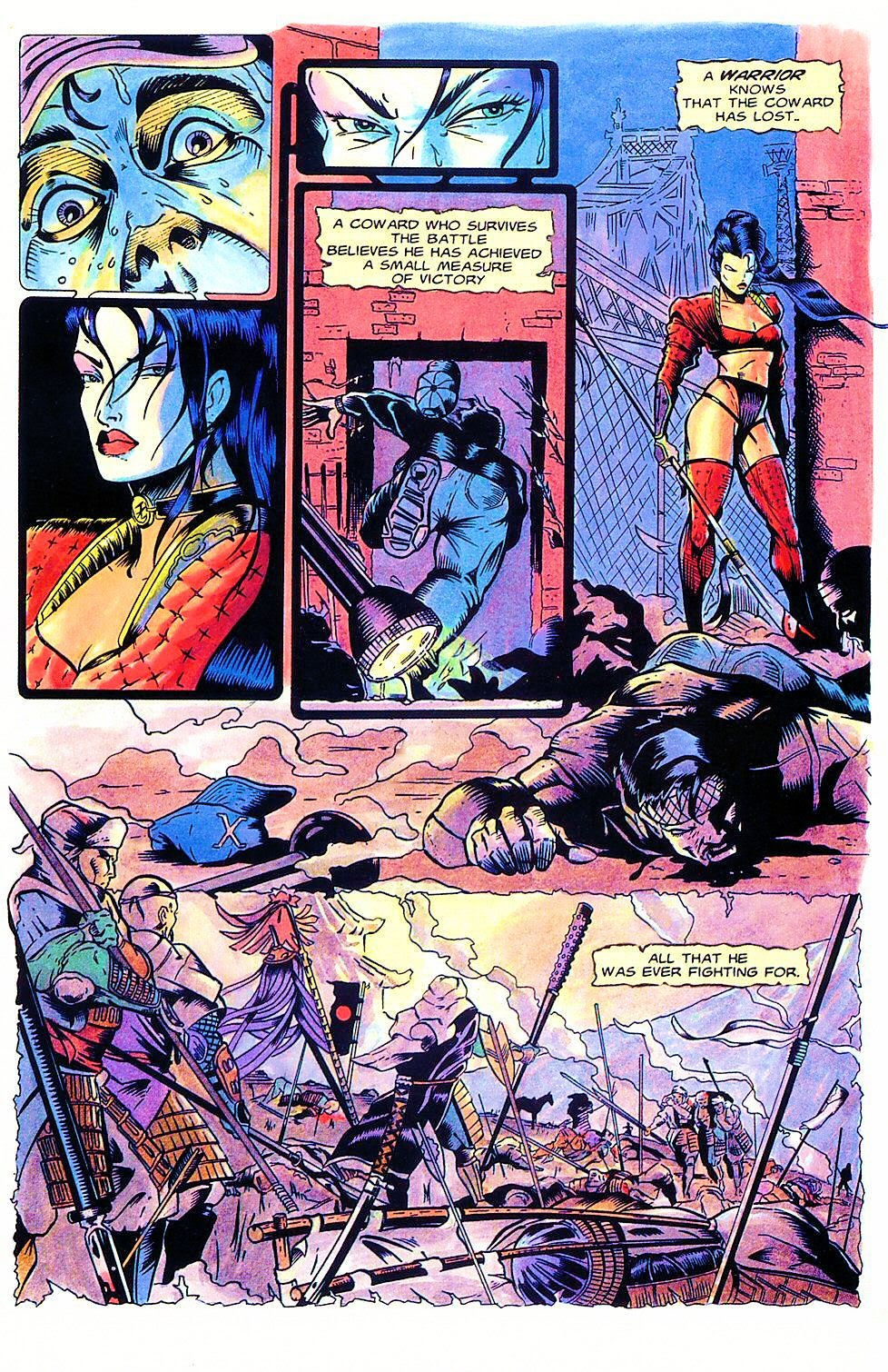 Shi: The Way of the Warrior Issue #1 #1 - English 22