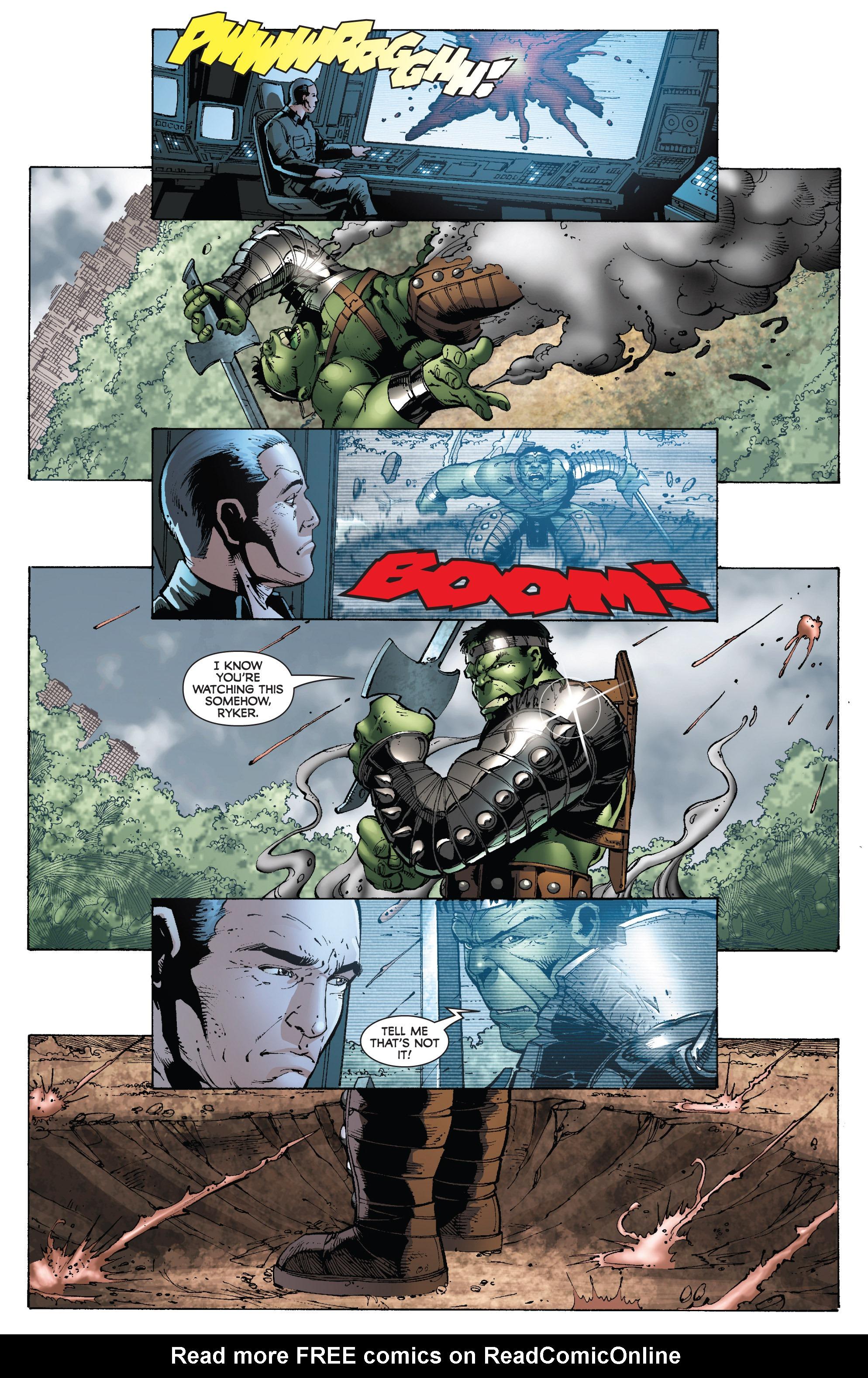 Read online World War Hulk: Gamma Corps comic -  Issue #3 - 9
