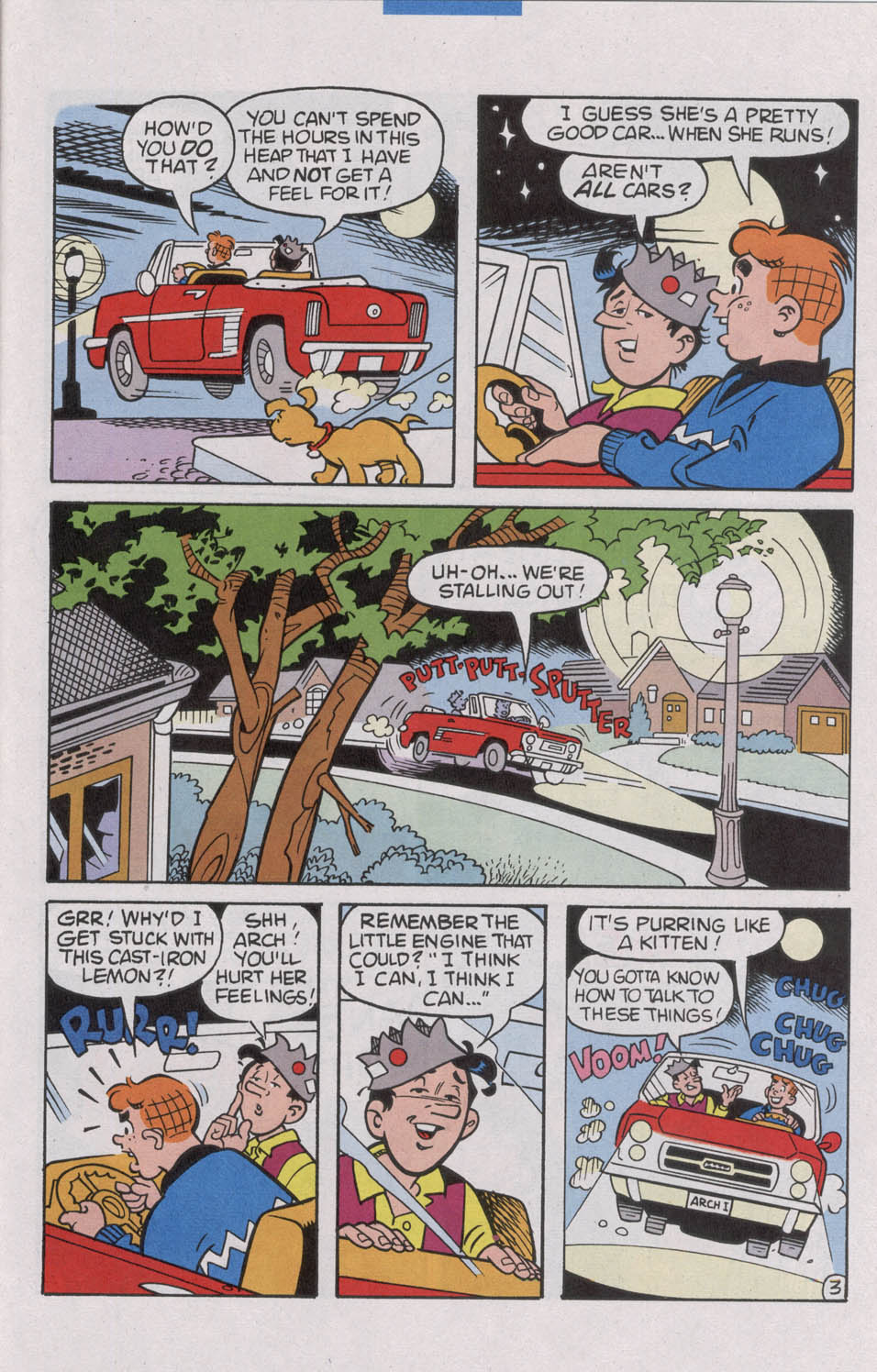 Read online Archie (1960) comic -  Issue #535 - 31