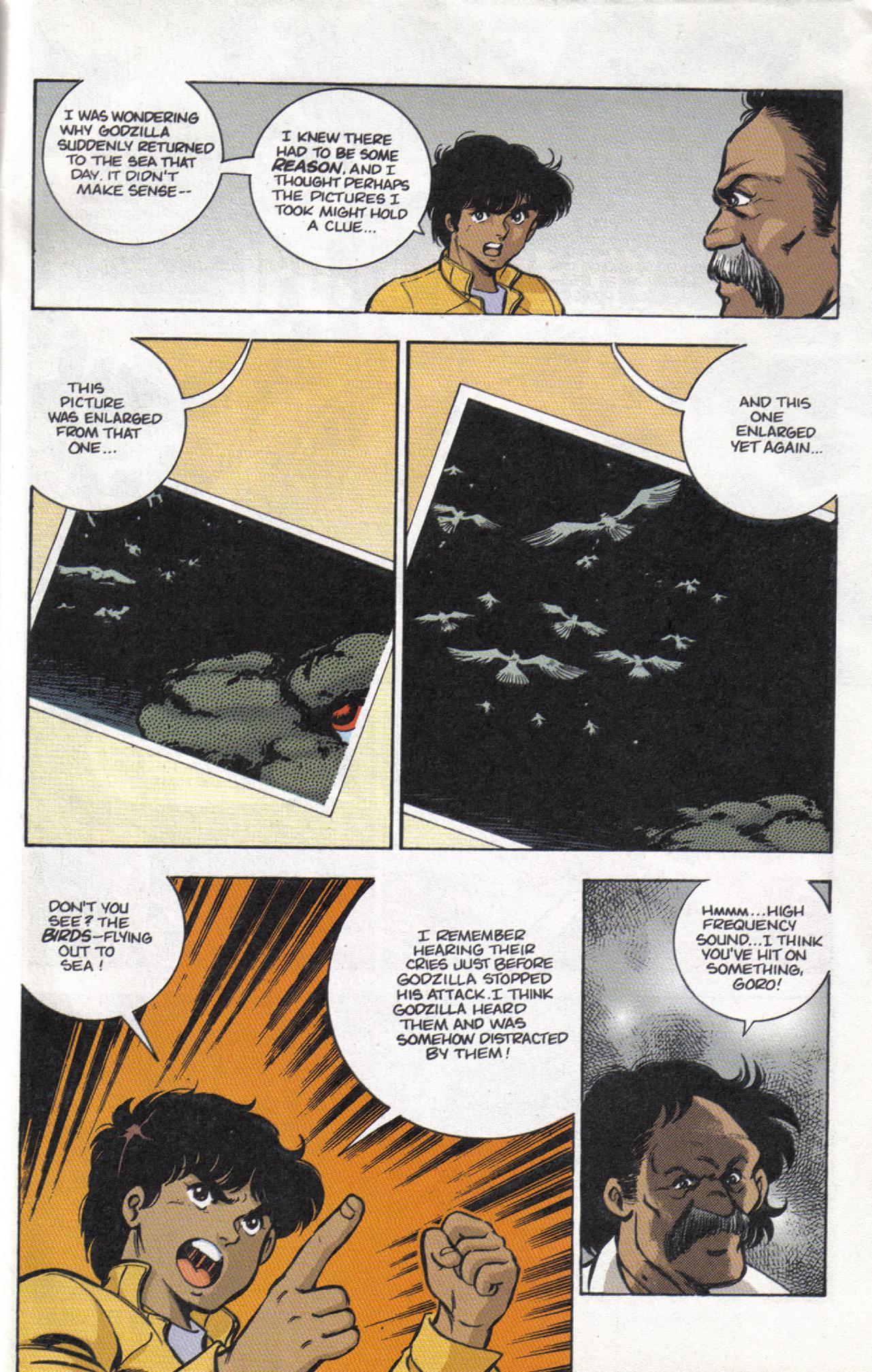 Read online Dark Horse Classics: Terror of Godzilla comic -  Issue #3 - 31