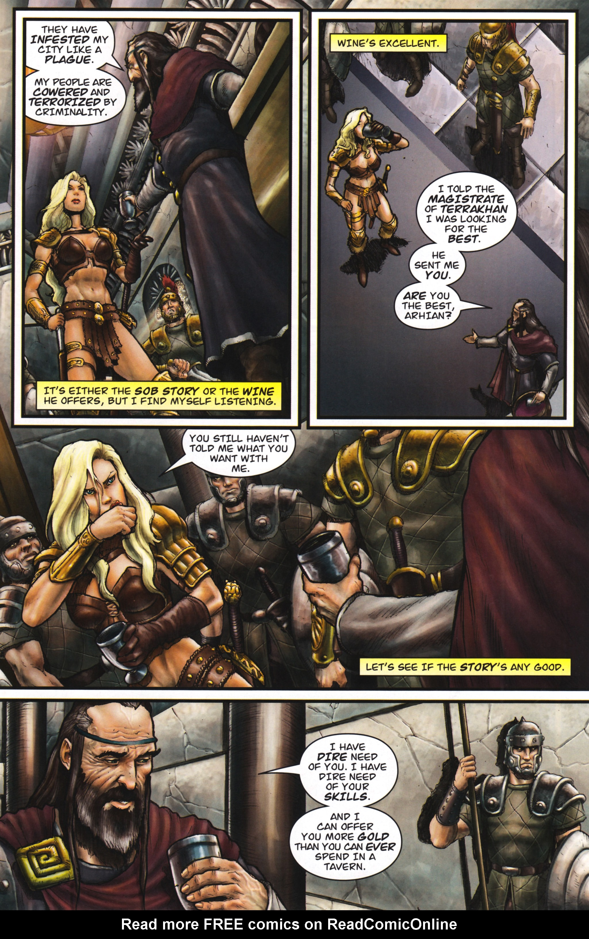 Read online Arhian: Head Huntress comic -  Issue #1 - 31