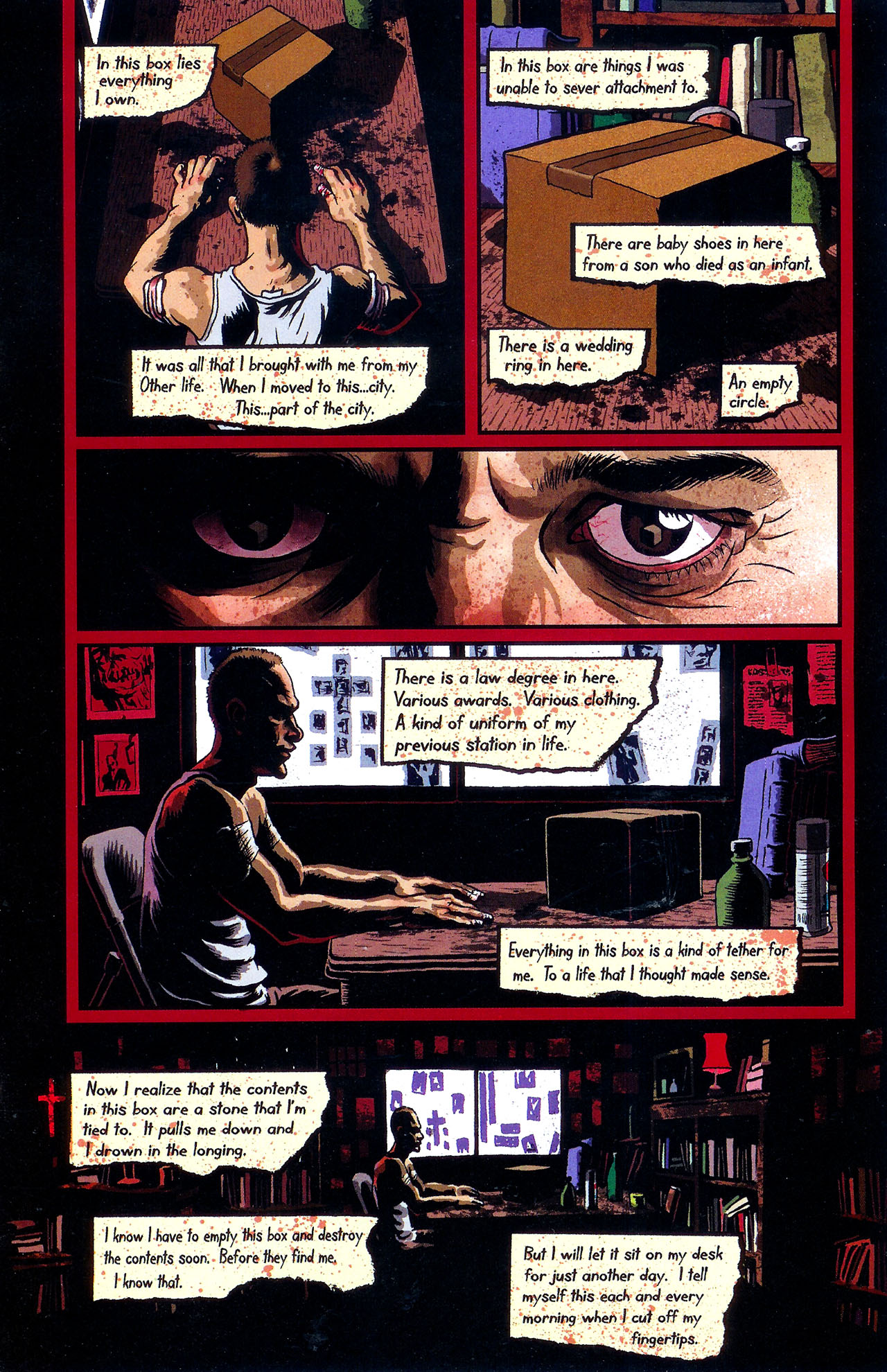 Read online Se7en comic -  Issue #6 - 9