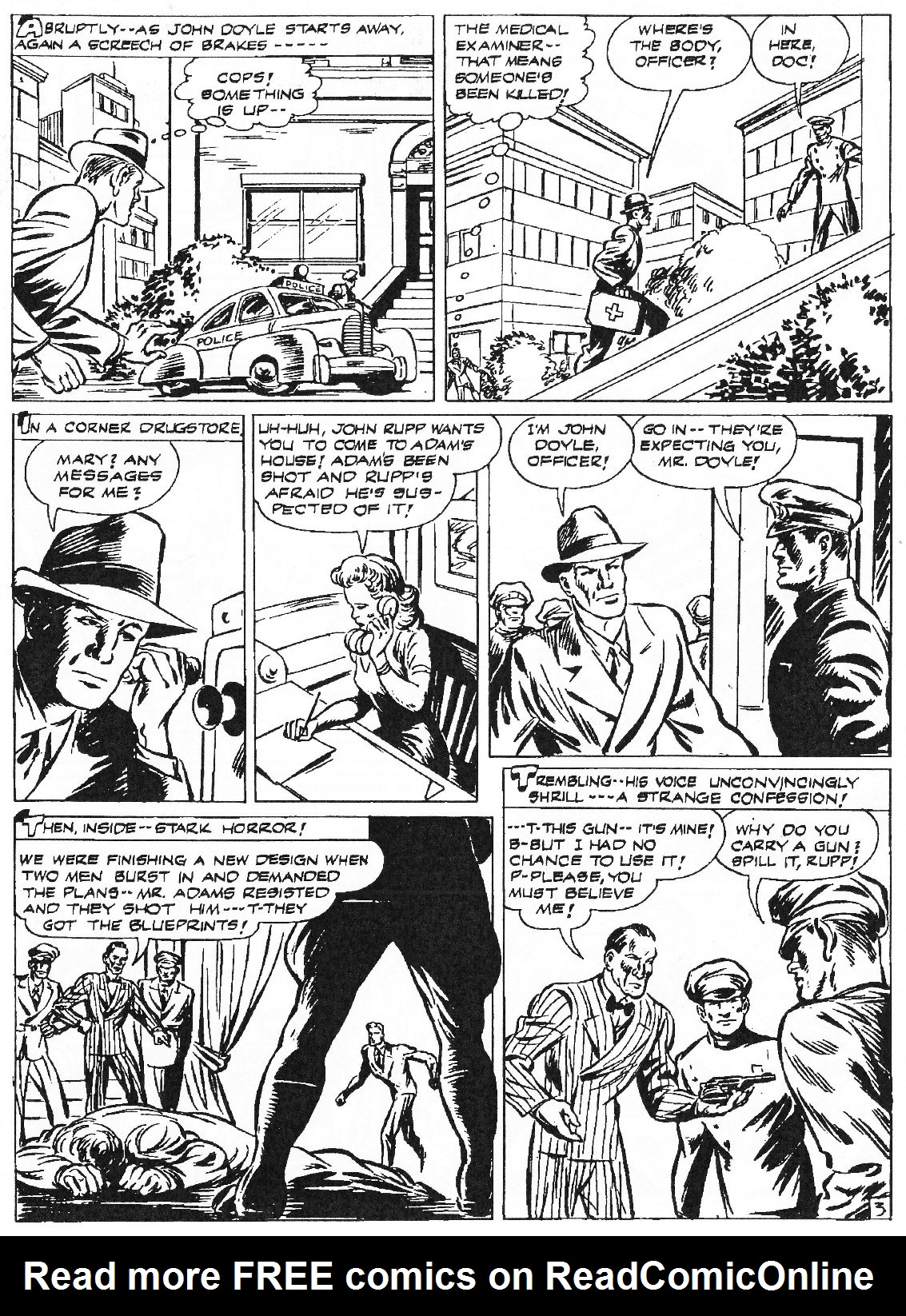 Read online Men of Mystery Comics comic -  Issue #81 - 165